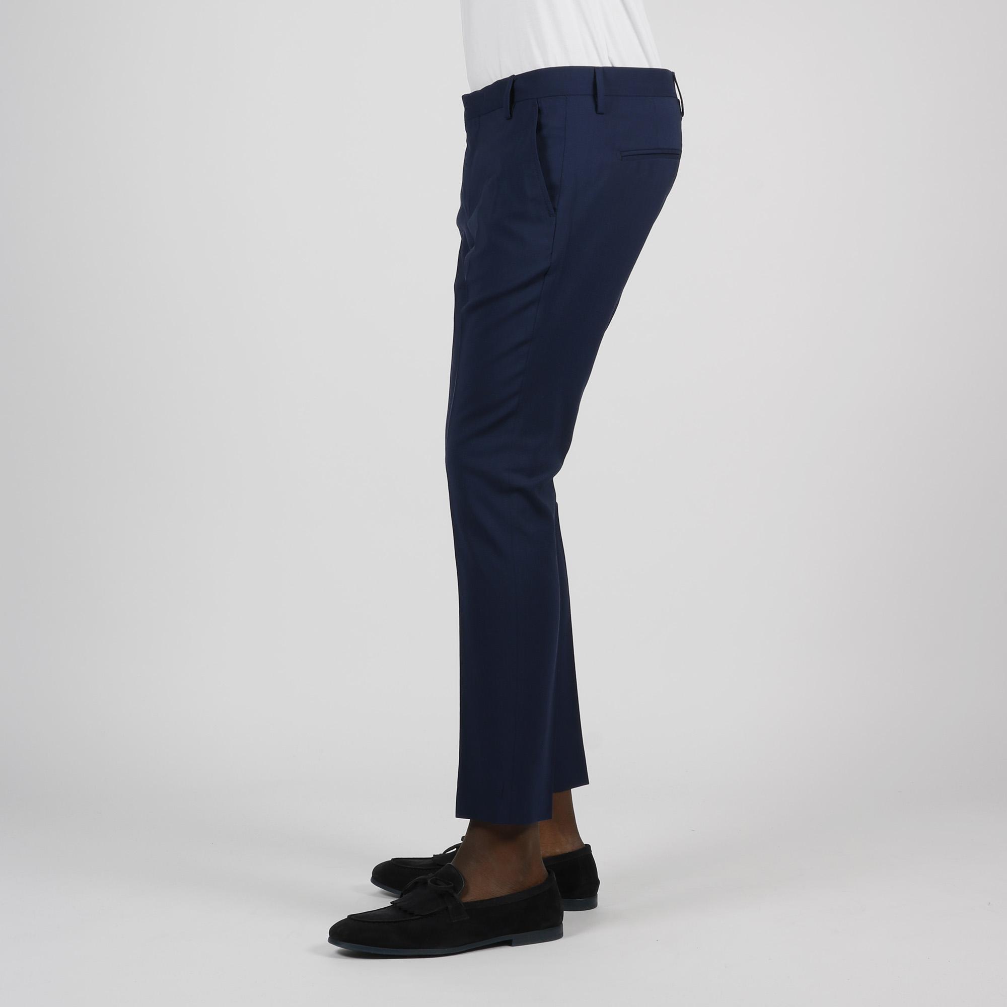 Pantalone tasca america - Blu indaco