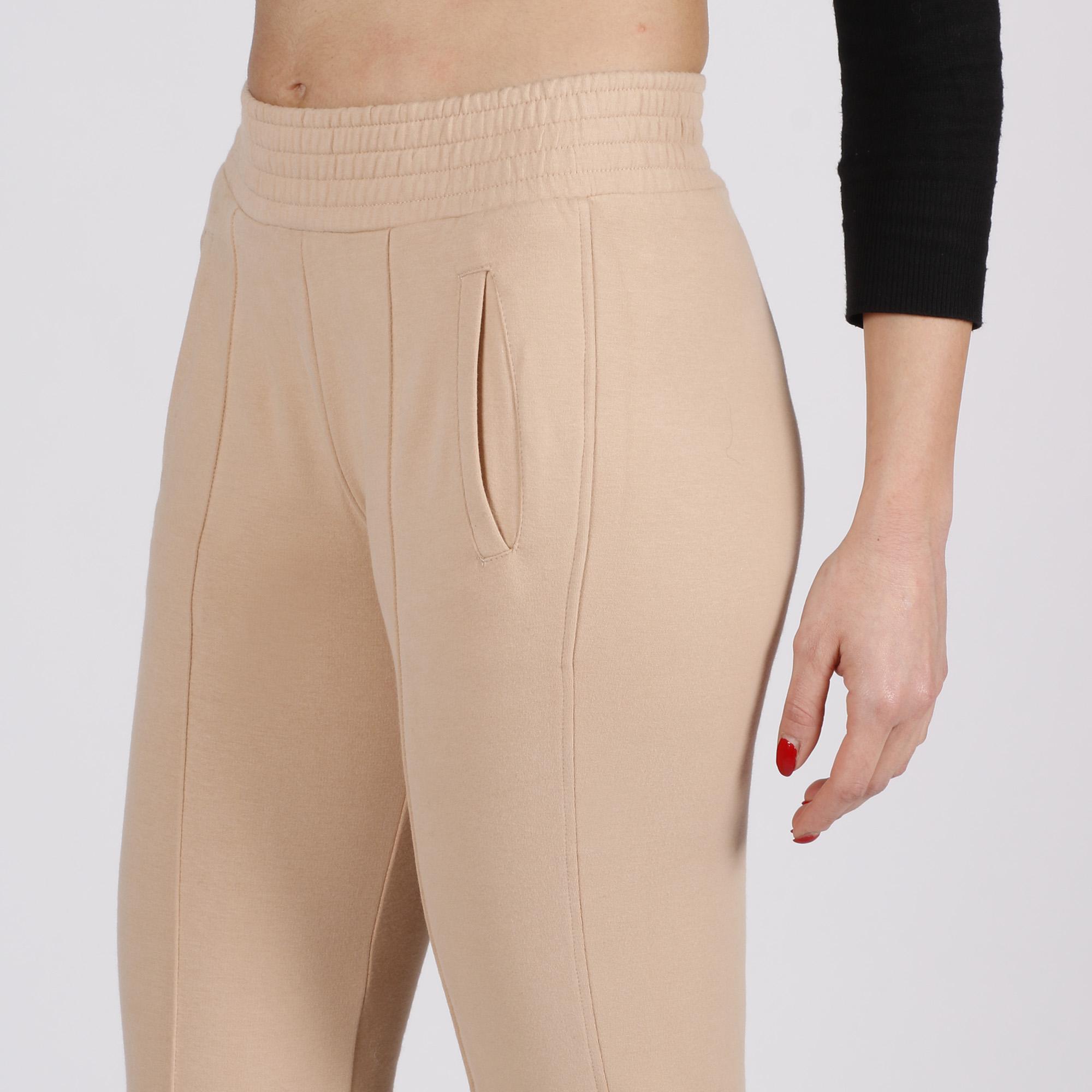 Pantalone zampa - Cipria