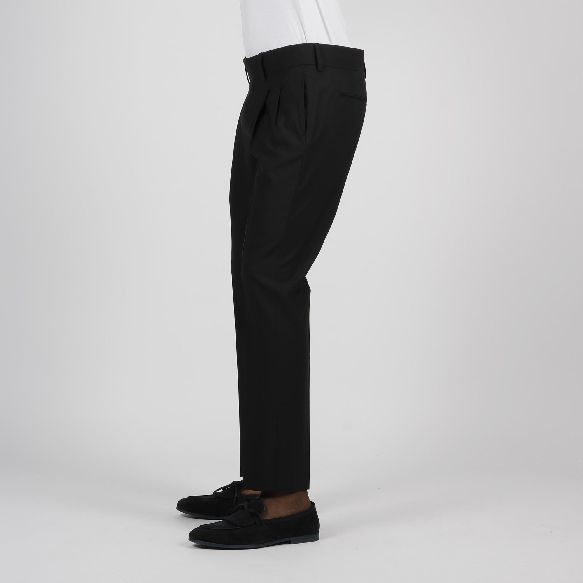 Pantalone doppia pences - Nero