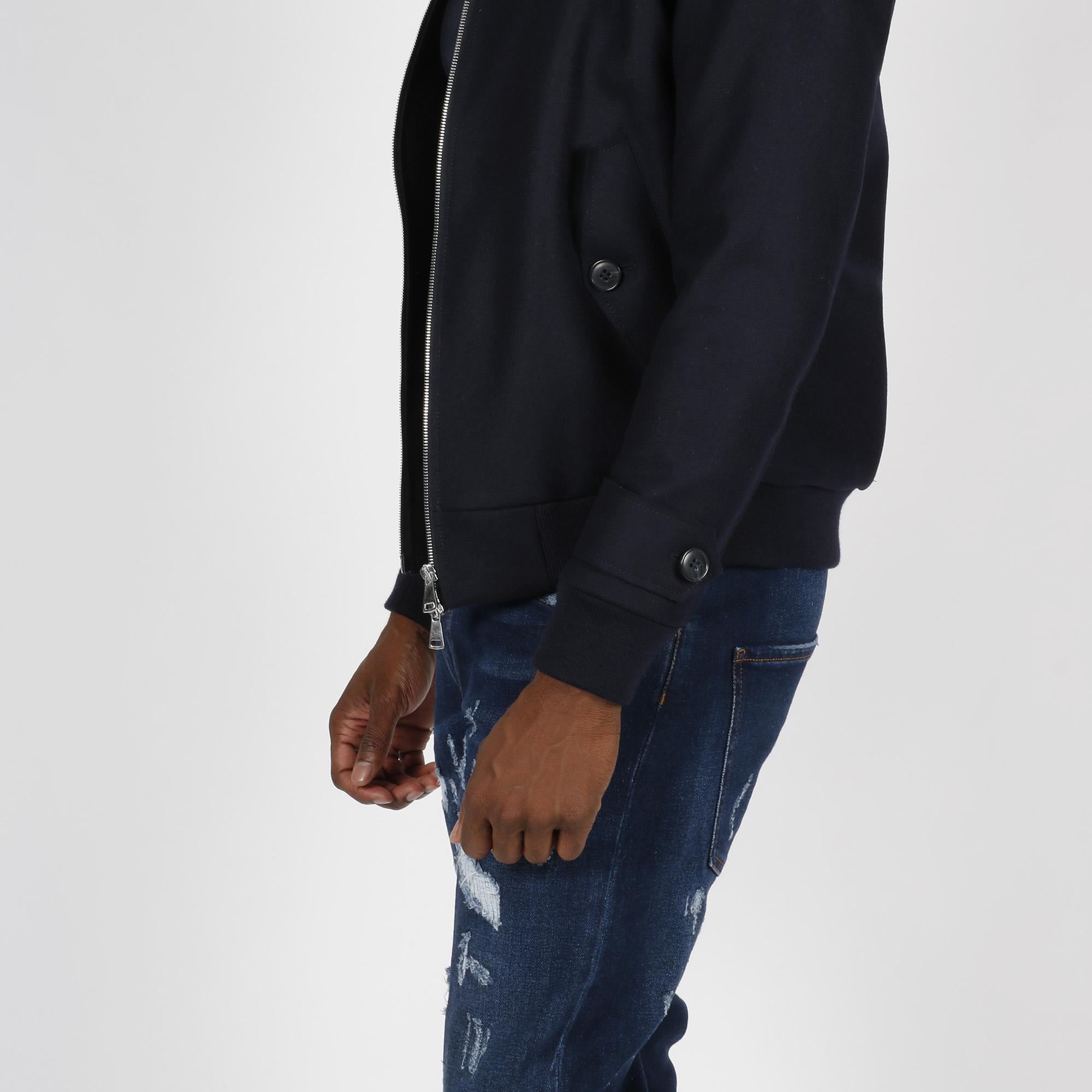 Giacca corto in lana - Blu