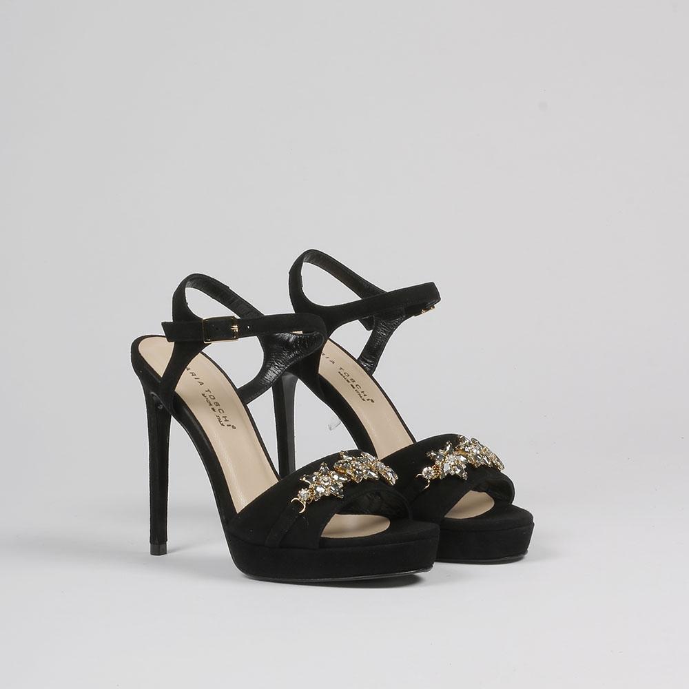 Sandalo Con Applicazioni Nero Sandalo Nero Con Applicazioni Nero Applicazioni Sandalo Con Con Sandalo 34Rj5LA