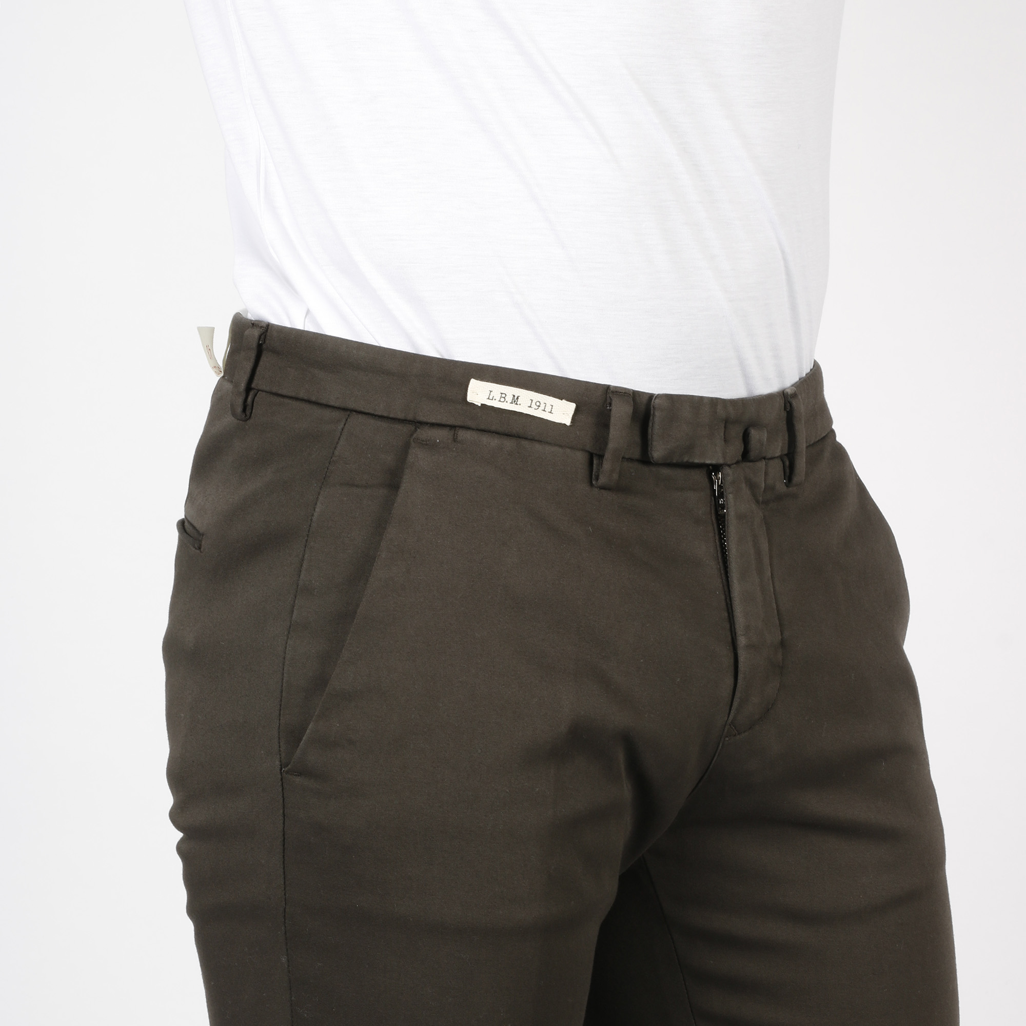 Pantalone tailored - Marrone