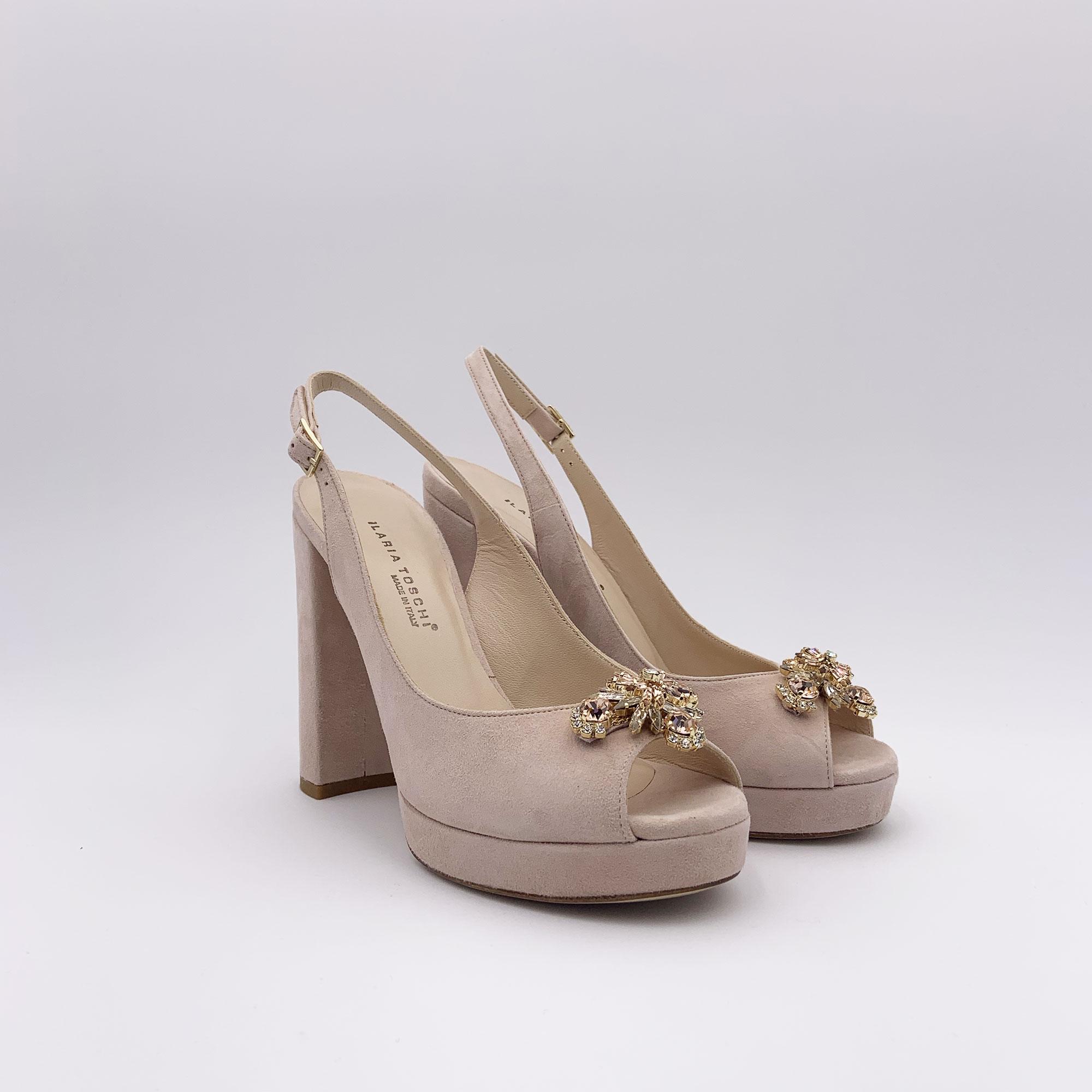 Sandalo chanel - Cipria