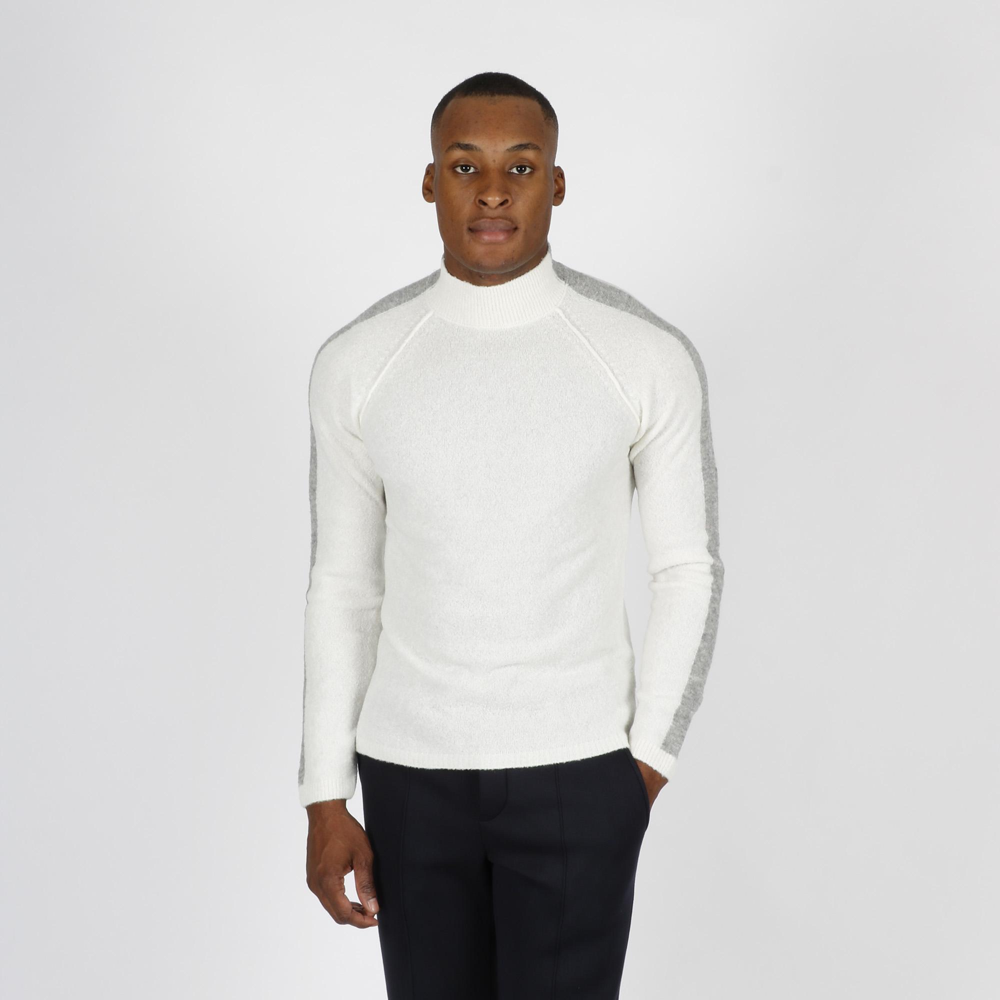 Lupo banda manica - Bianco/grigio