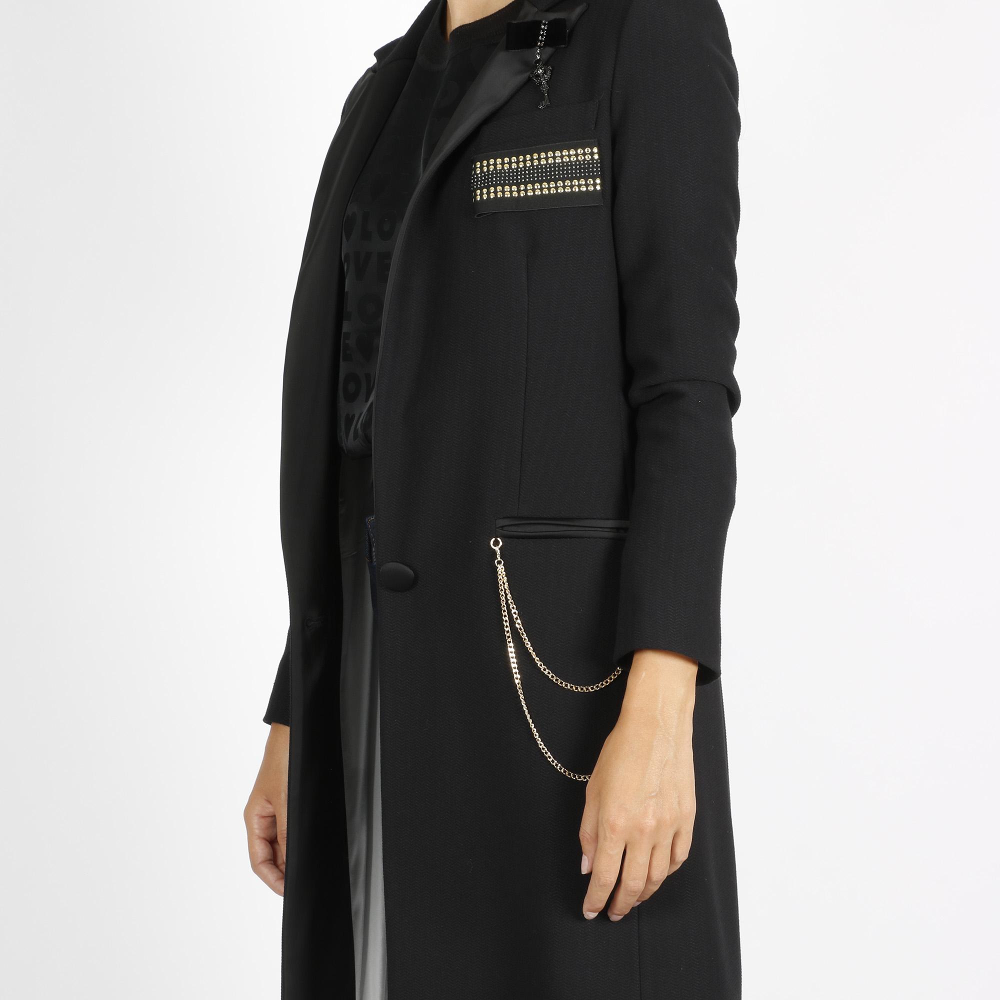 Cappotto lungo - Nero