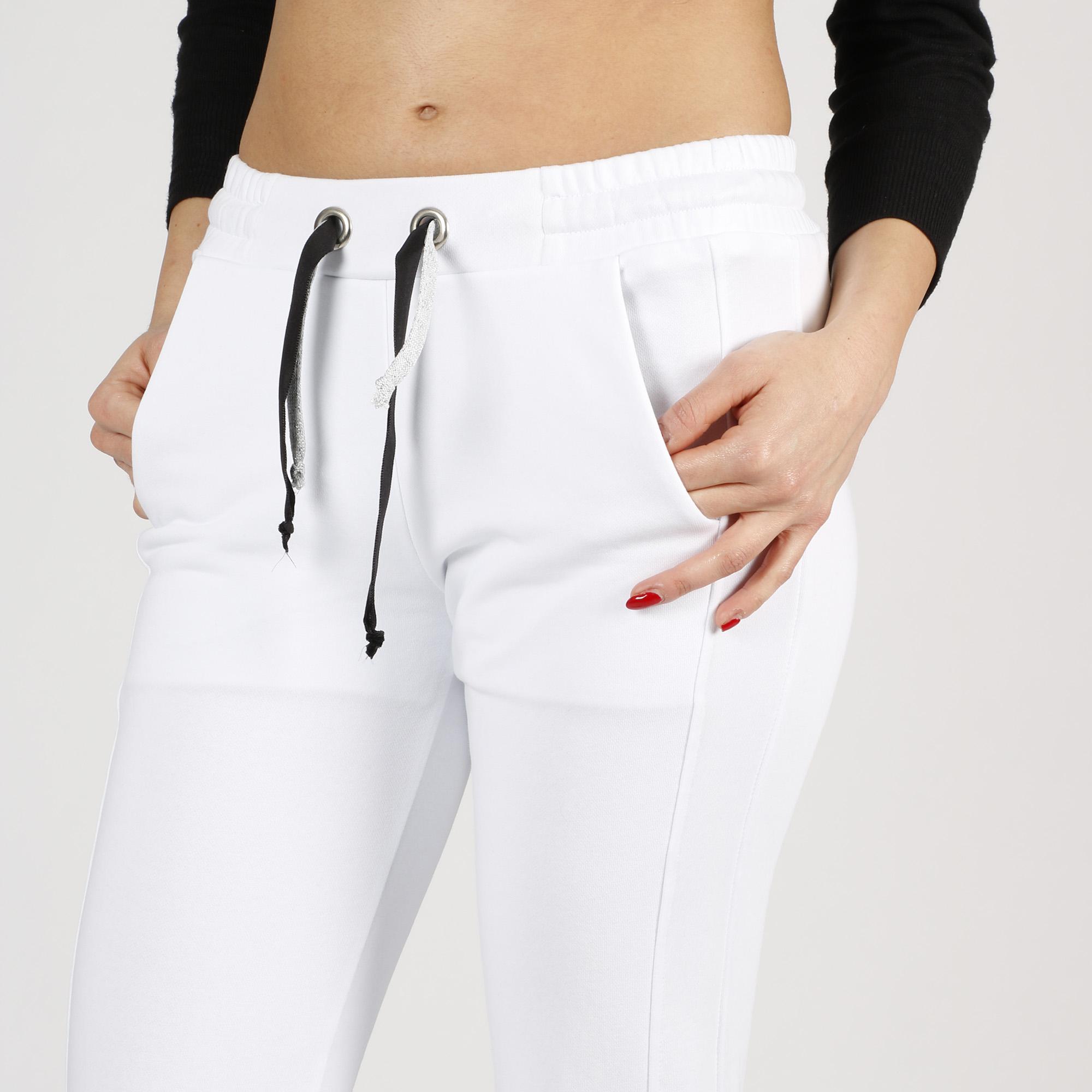 Pantalone tuta - Bianco
