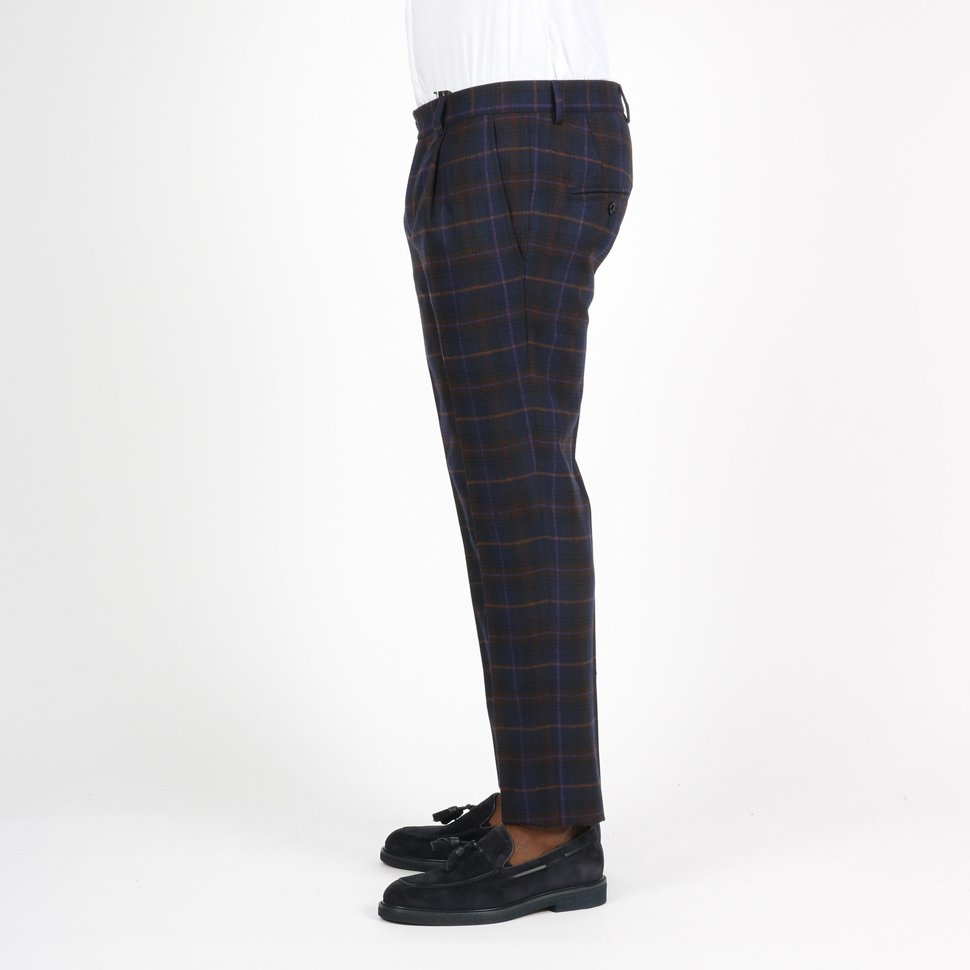 Pantalone spuma - Blu