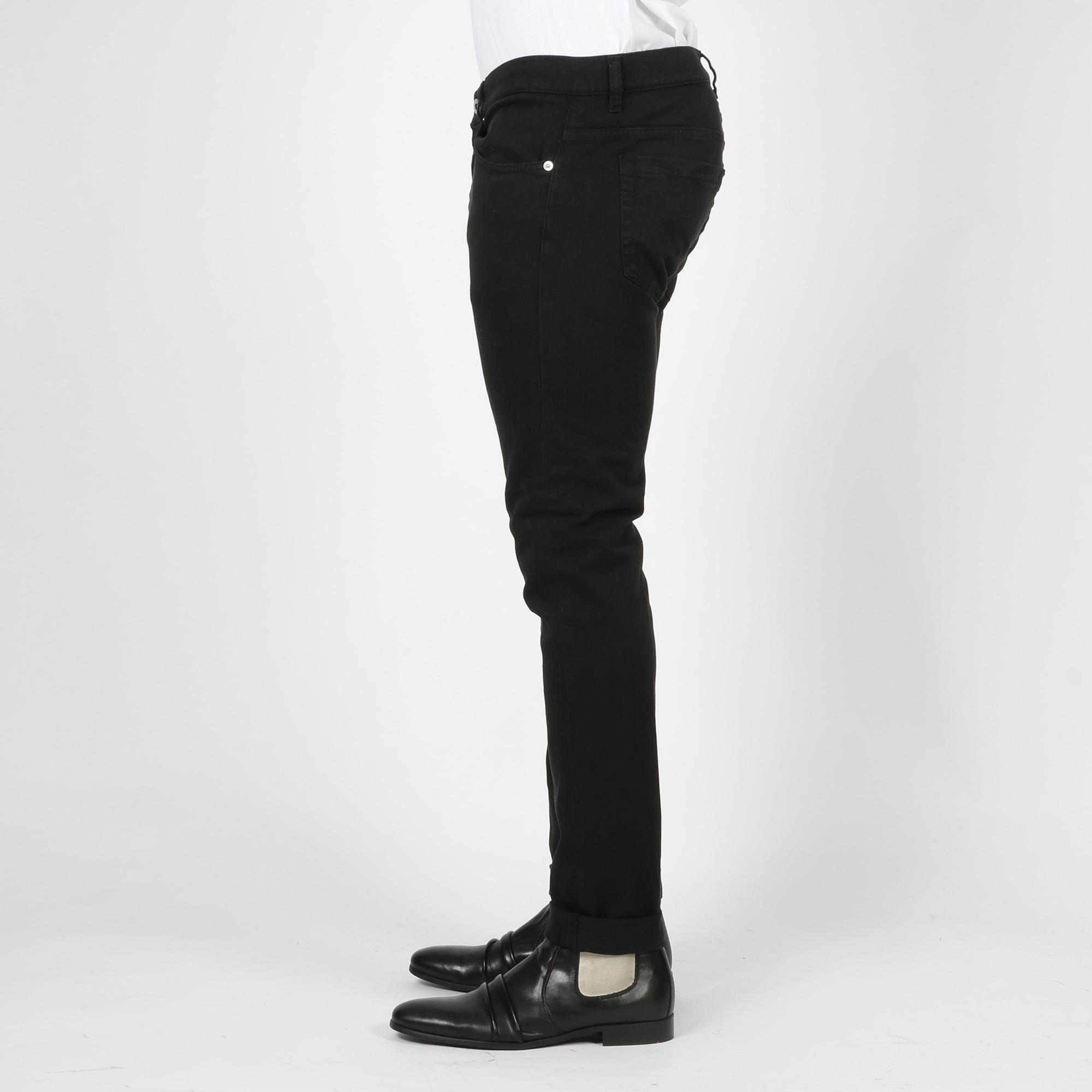 Pantaloni George skinny - Nero