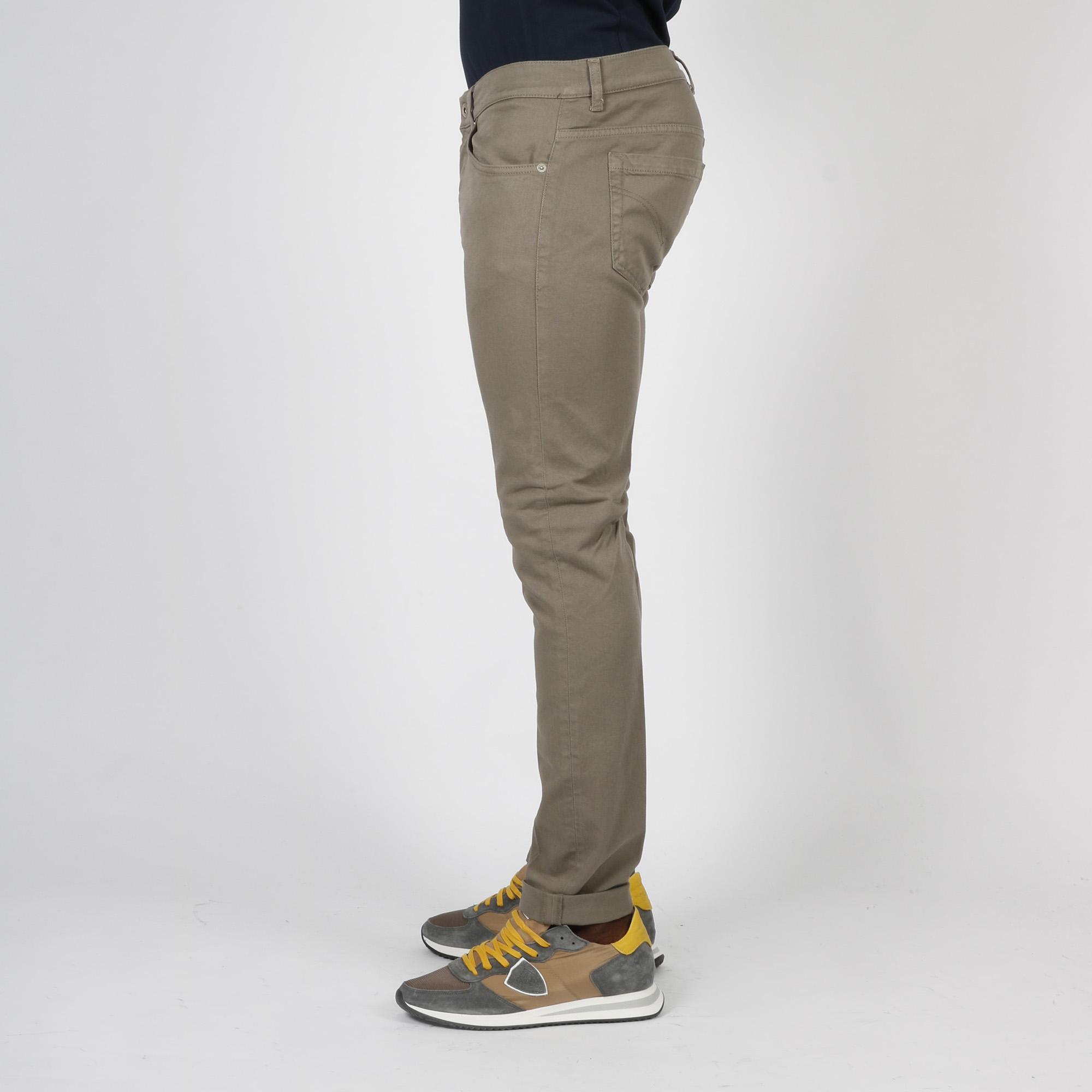 Pantaloni George skinny - Fango