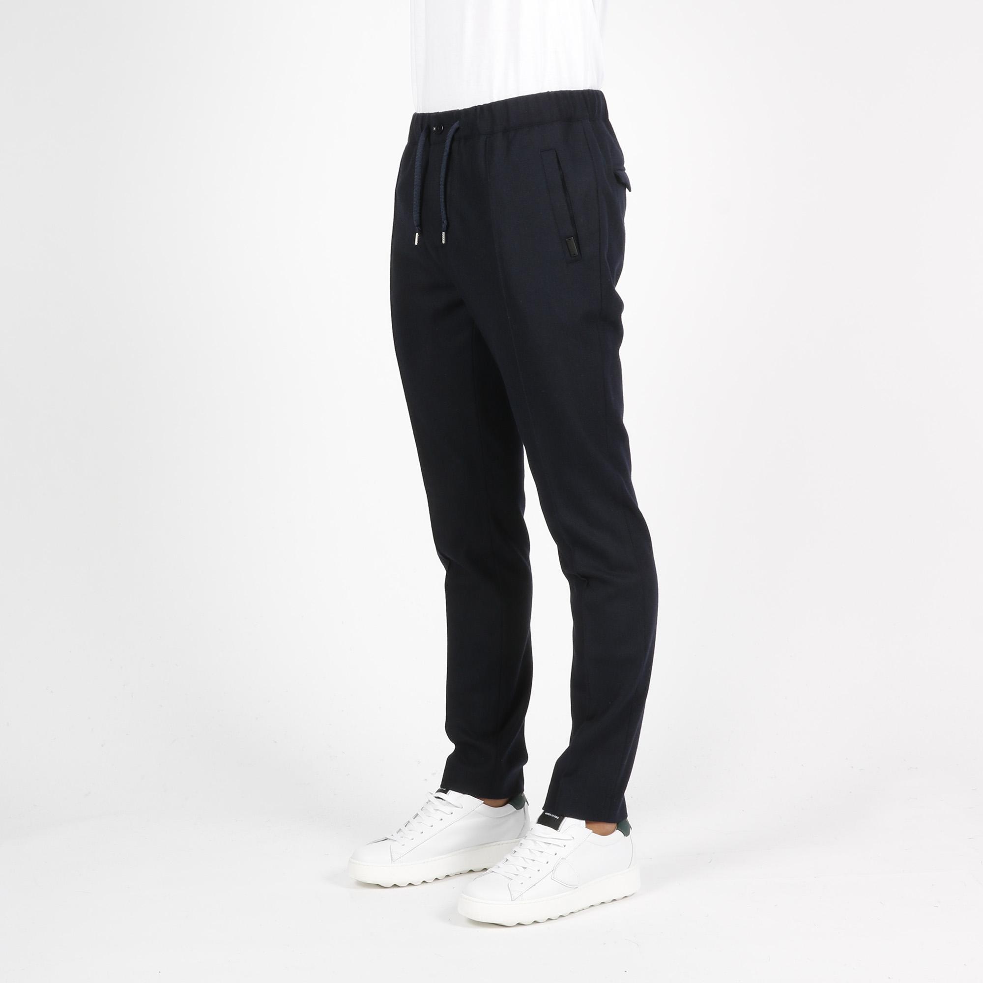 Pantalone caldaia - Blu