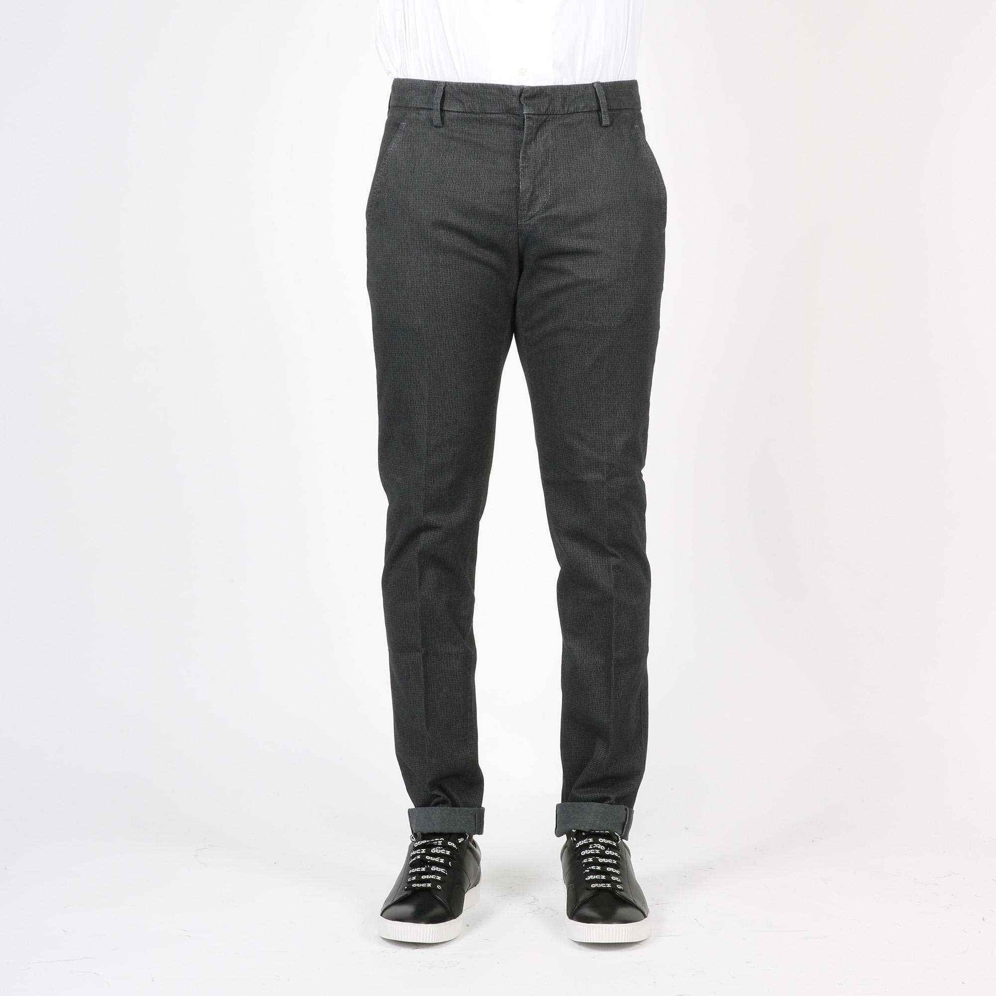 Pantalone gaubert micro pied - Grigio