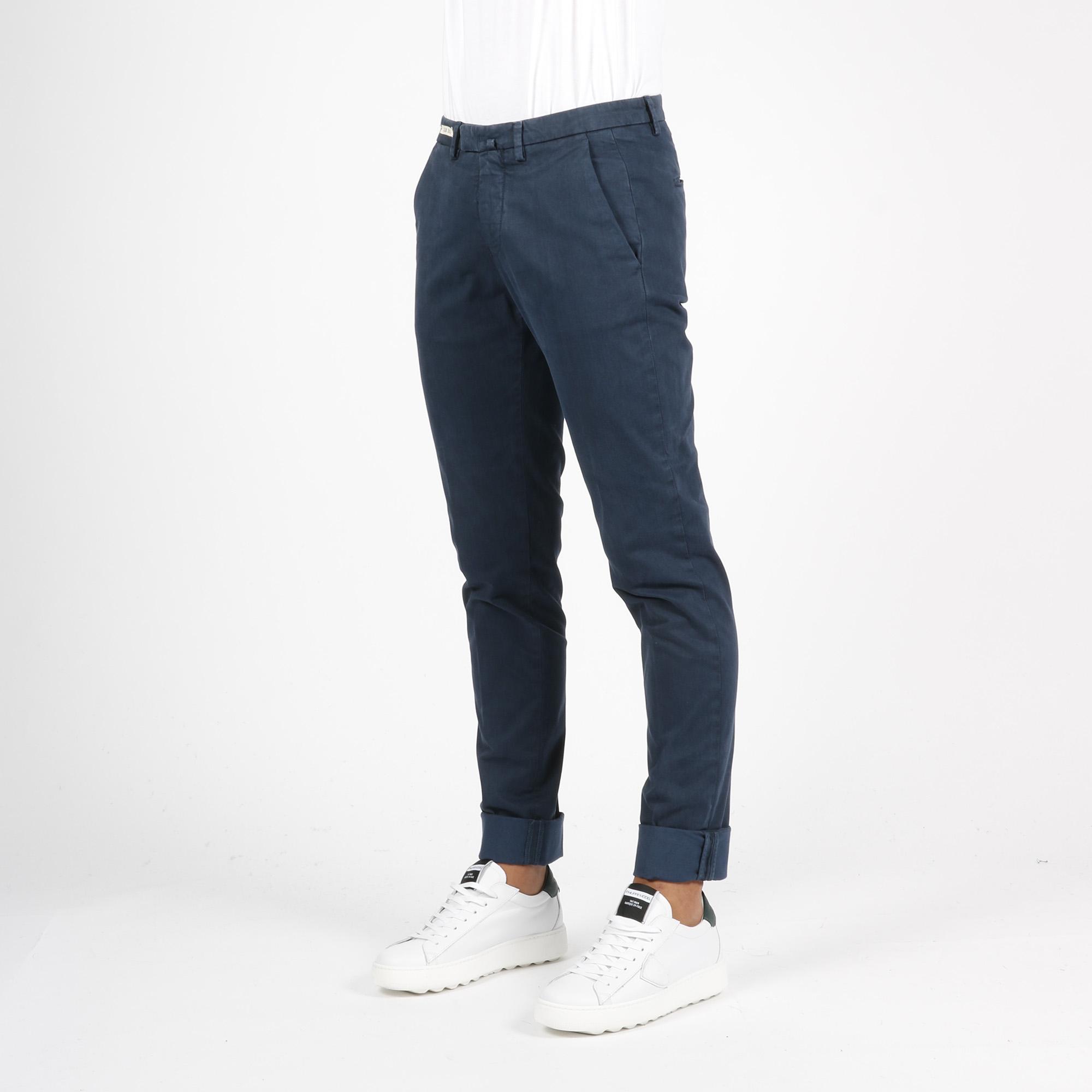 Pantalone tailored - Blu