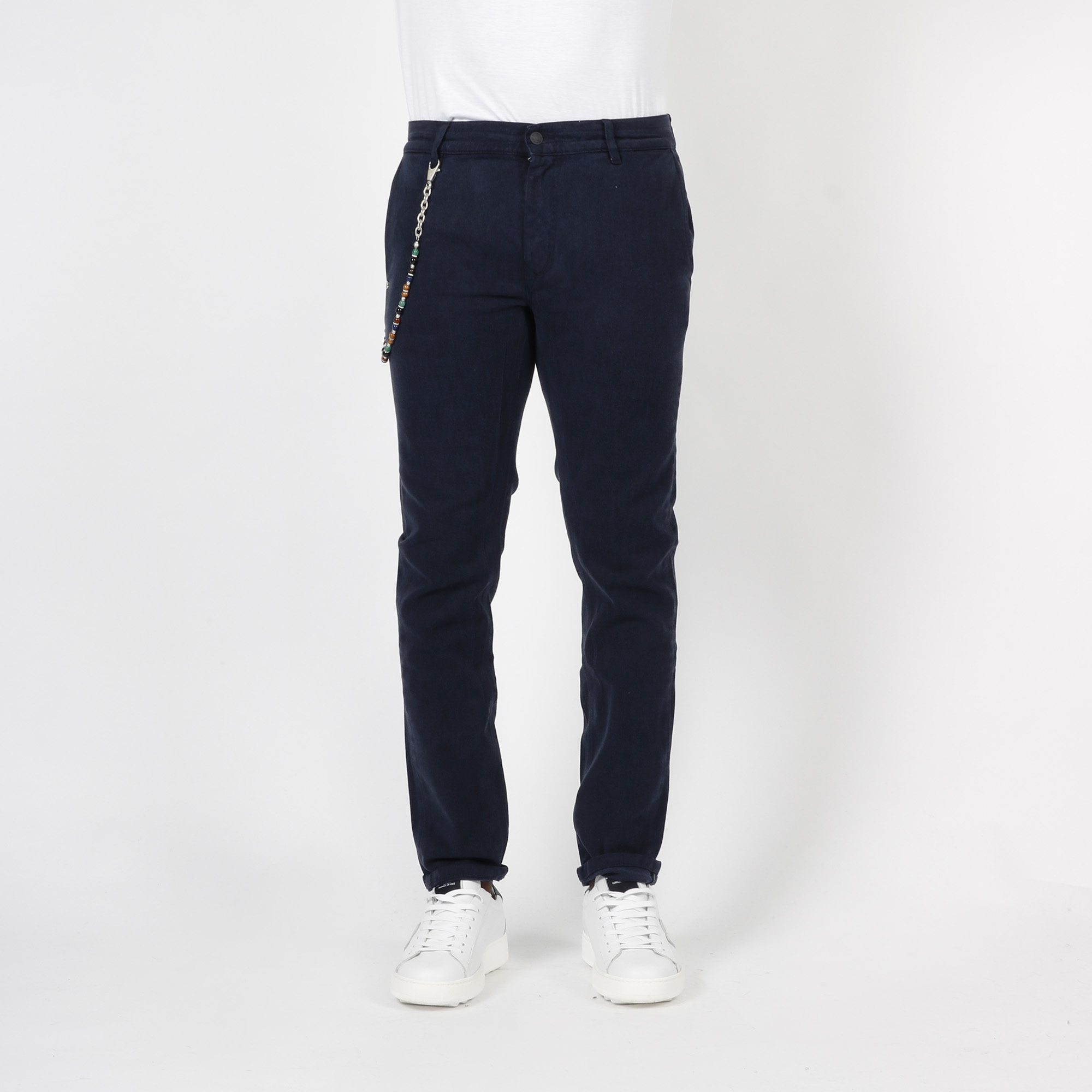 Pantalone con catena - Blu