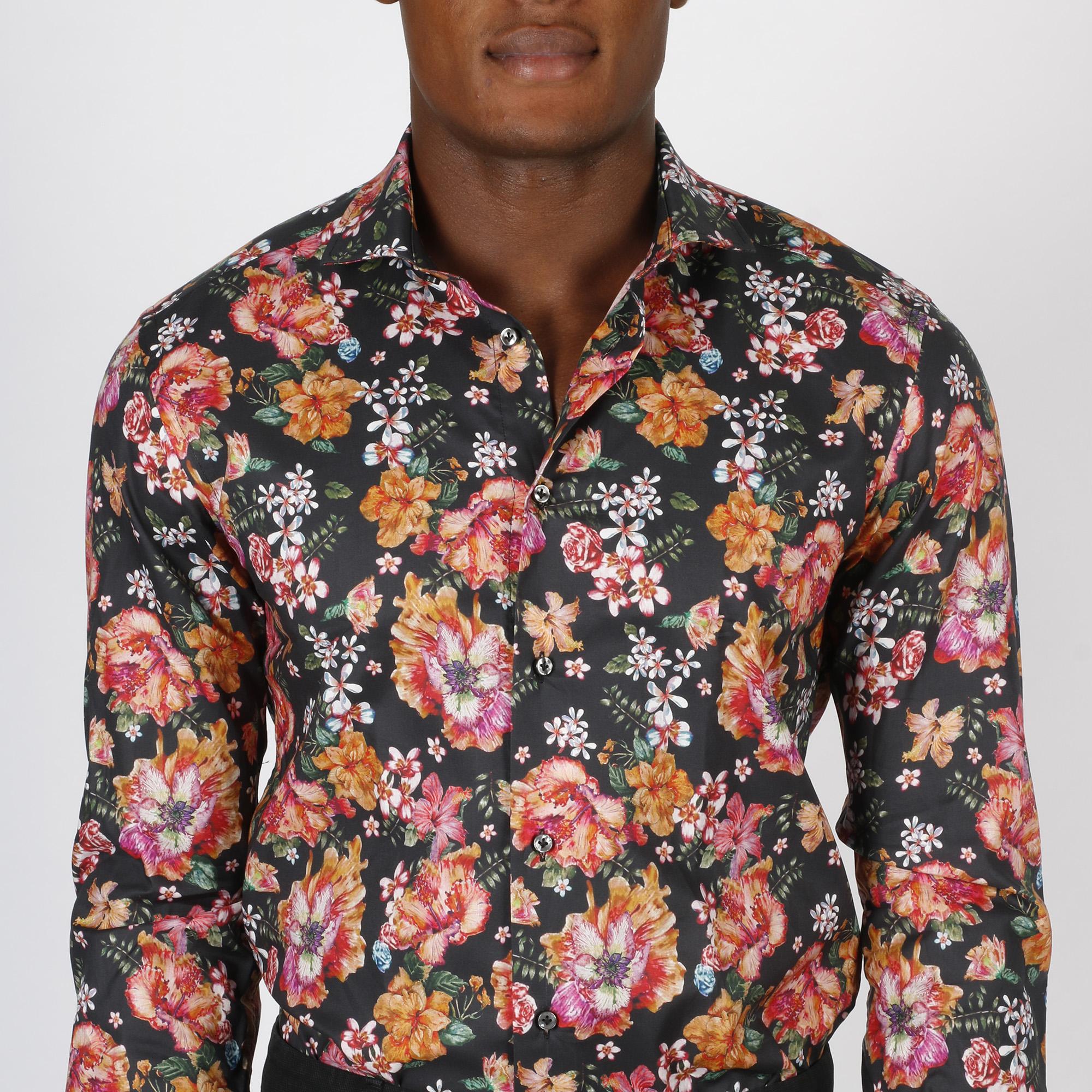 Camicia fiori