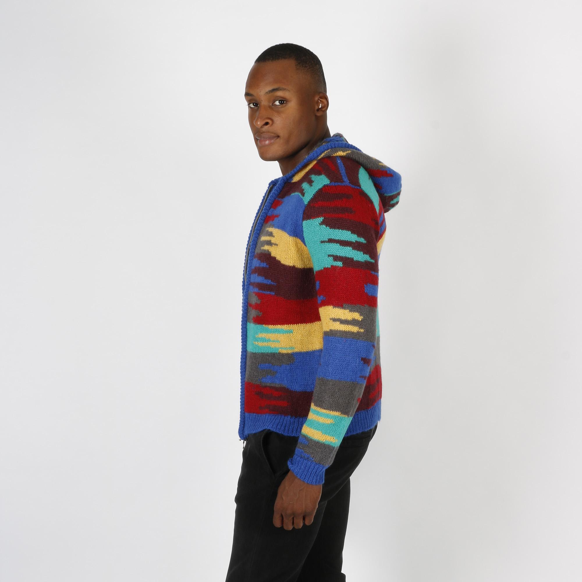 Maglia acdc con zip - Multicolore