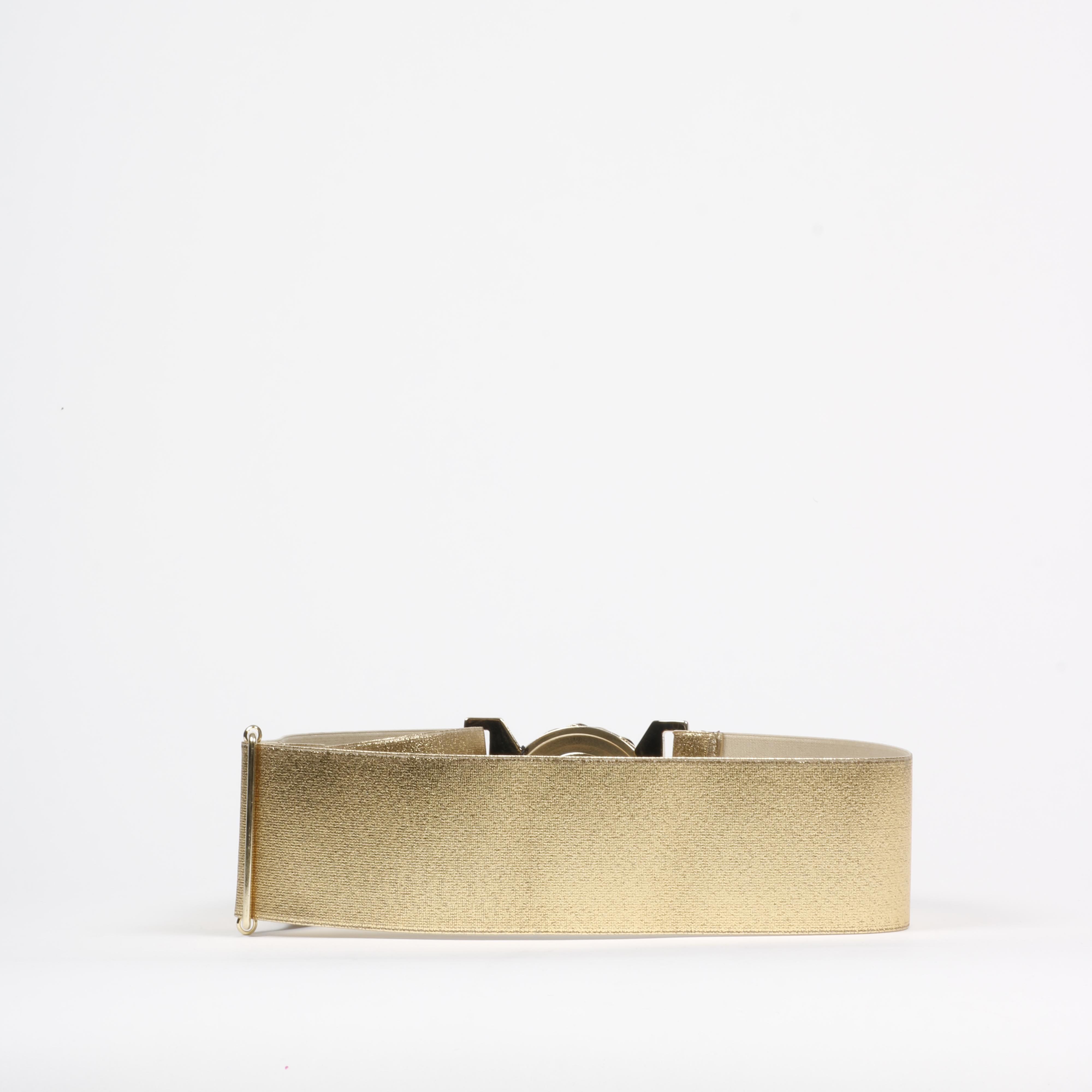 Cintura estensibile logata - Oro