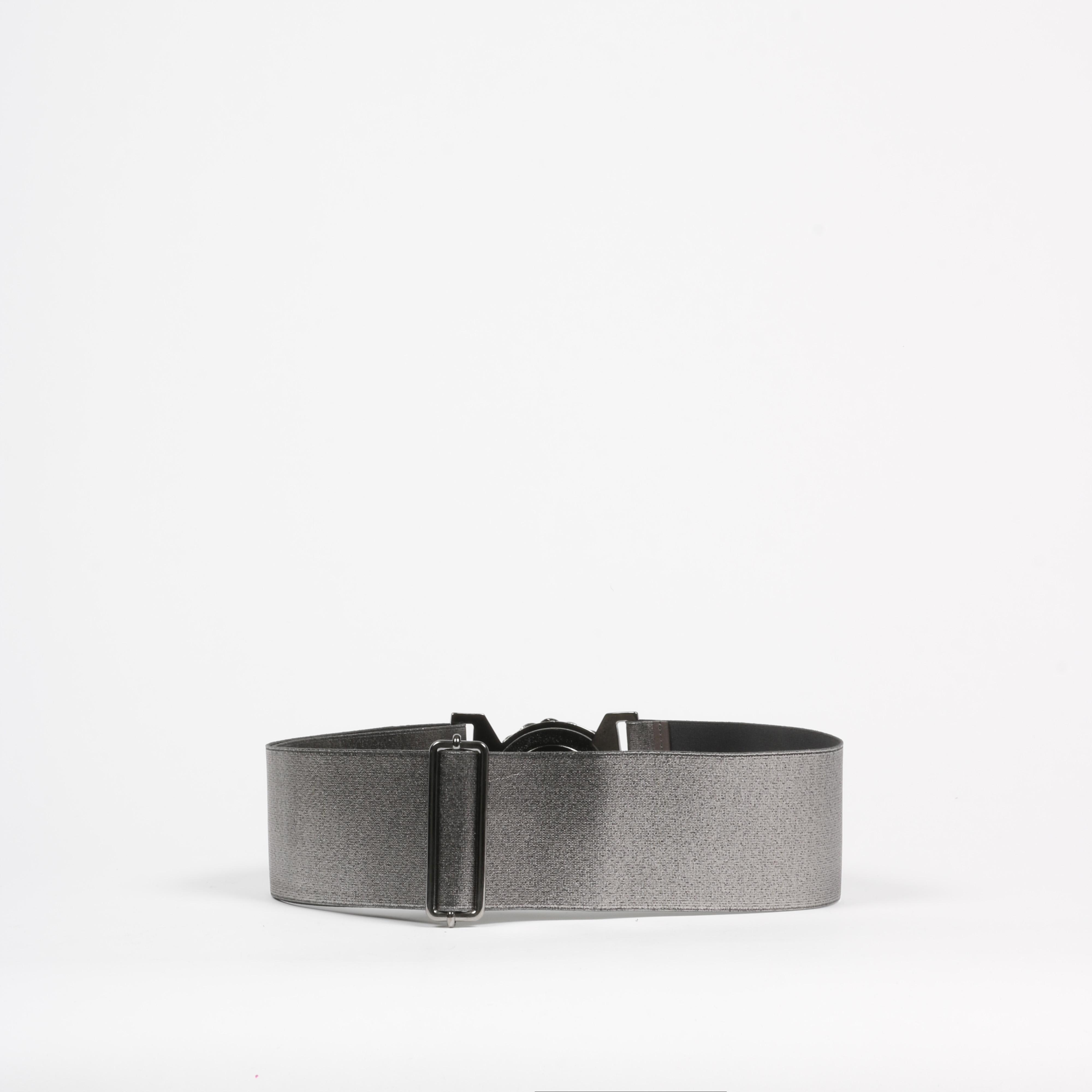 Cintura estensibile logata - Argento