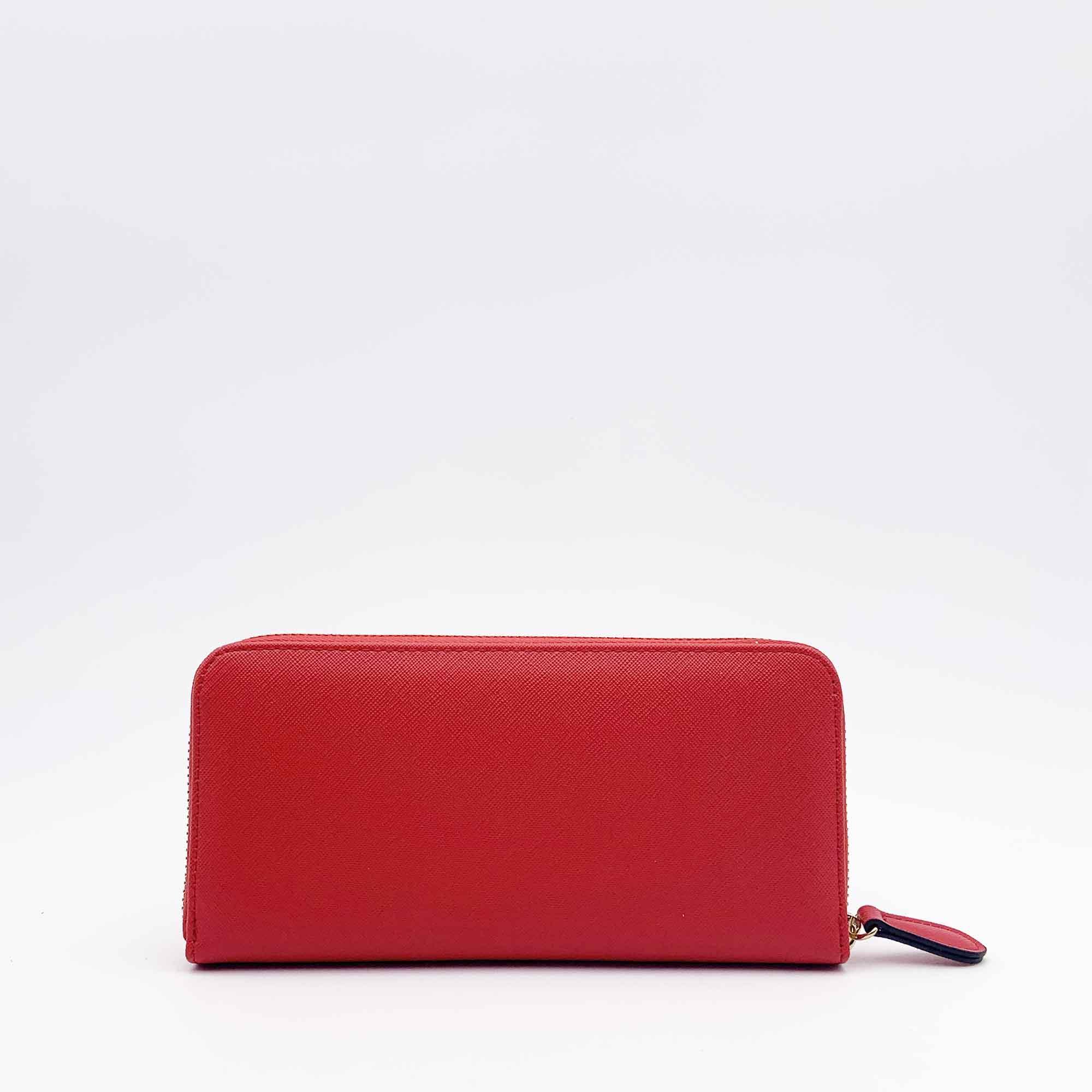 Portafoglio rettangolare - Rosso