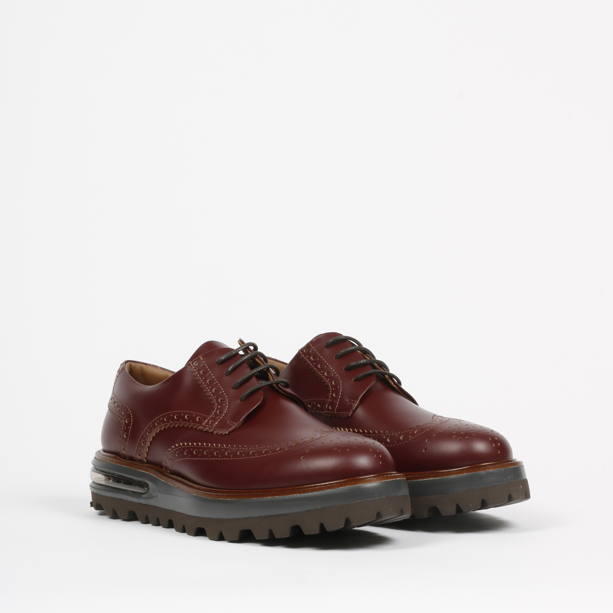 Air brogue heritage leather - Bordeaux
