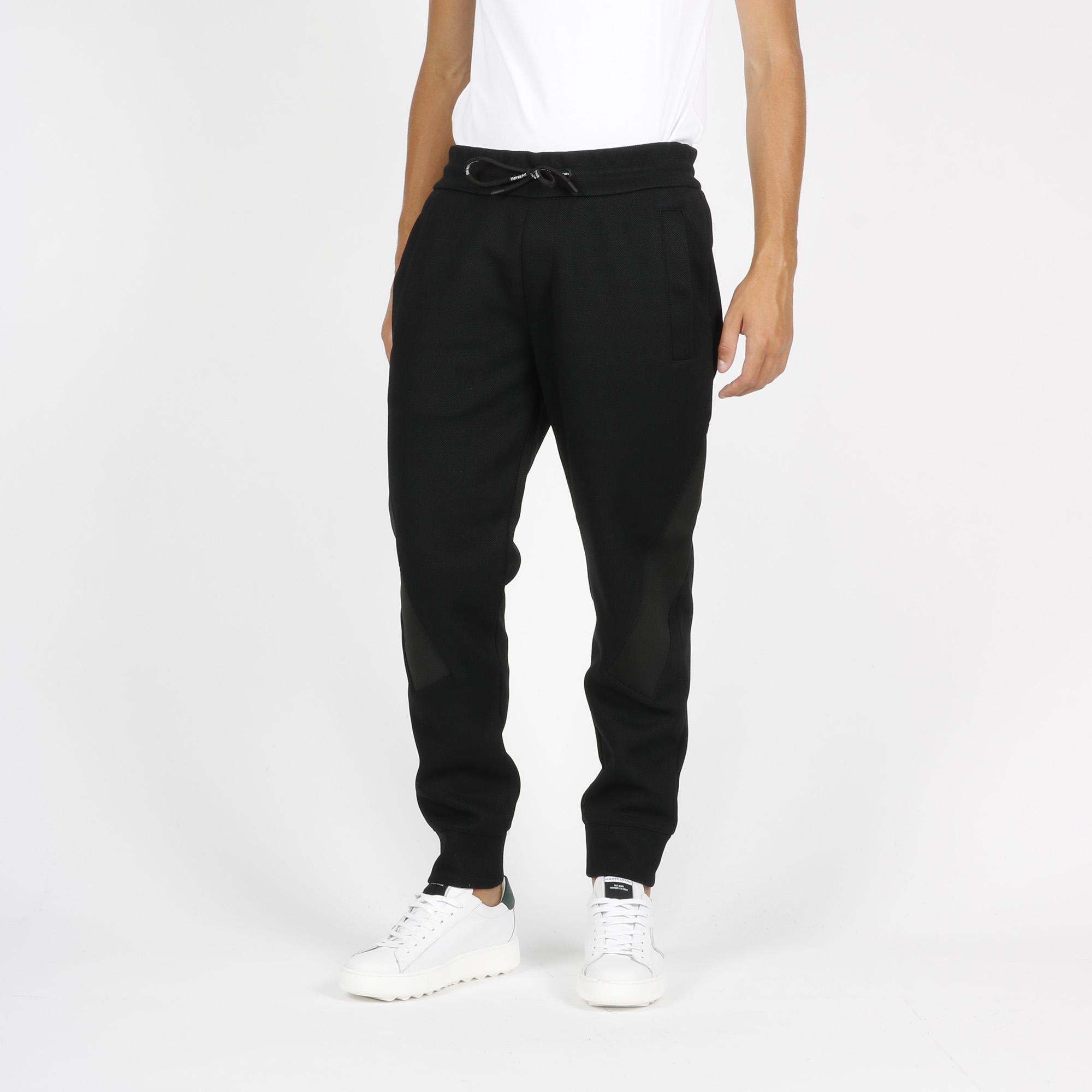 Pantalone essential logo - Nero