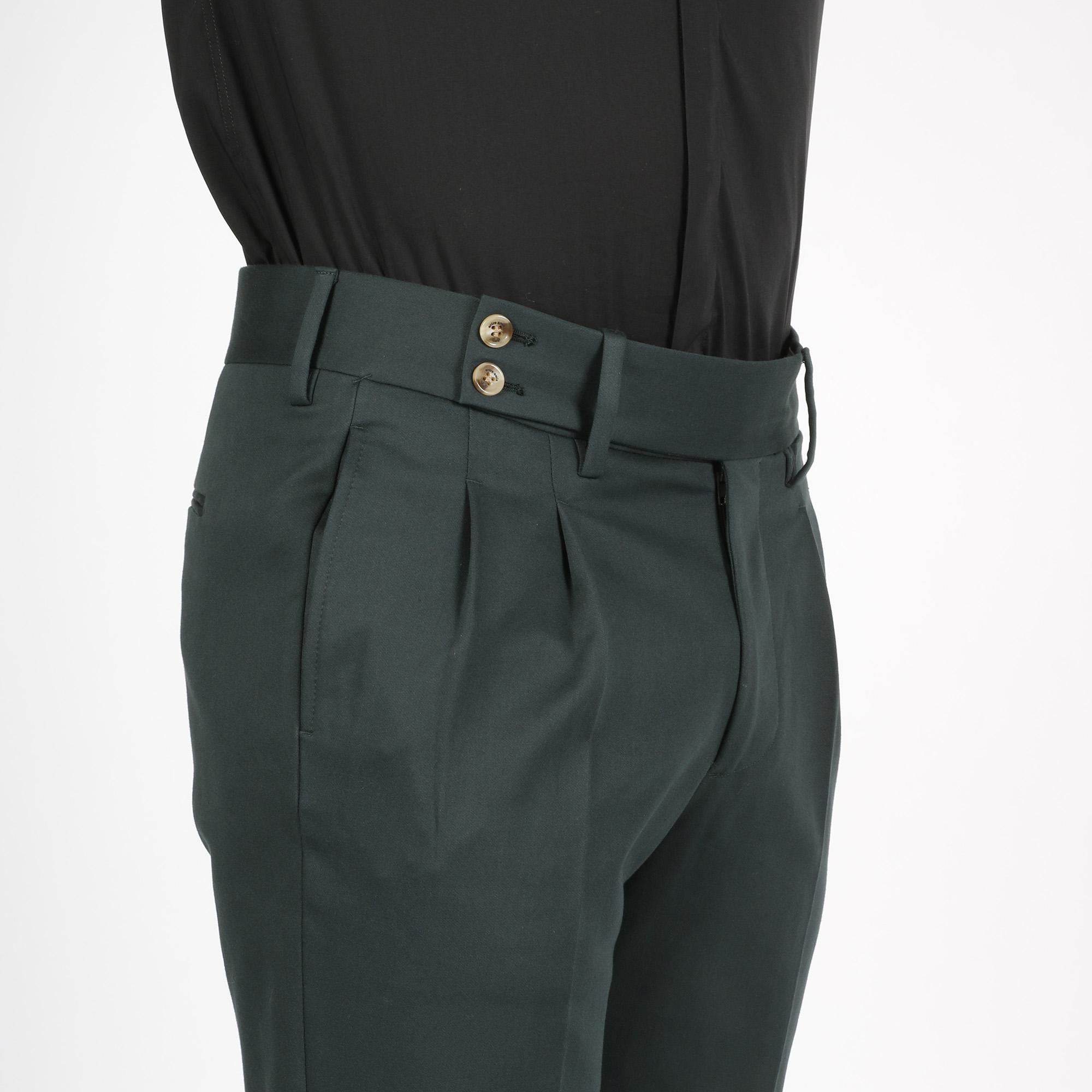 Pantalone sartoriali - Verde bottiglia