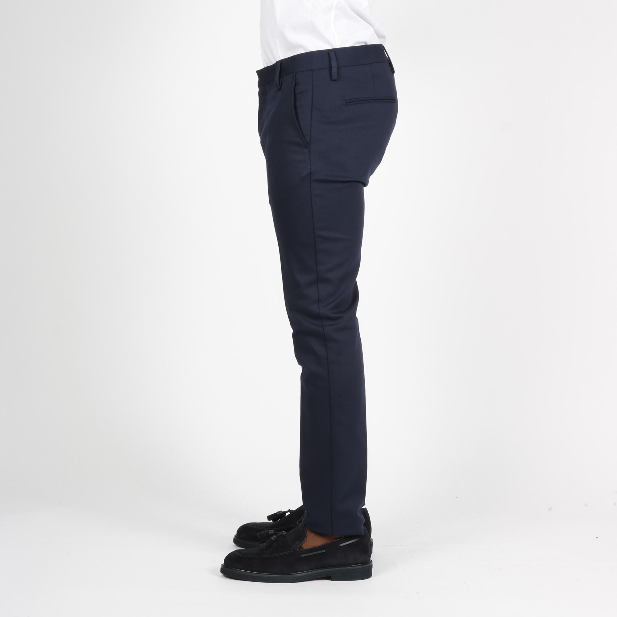 Pantalone america lungo - Blu