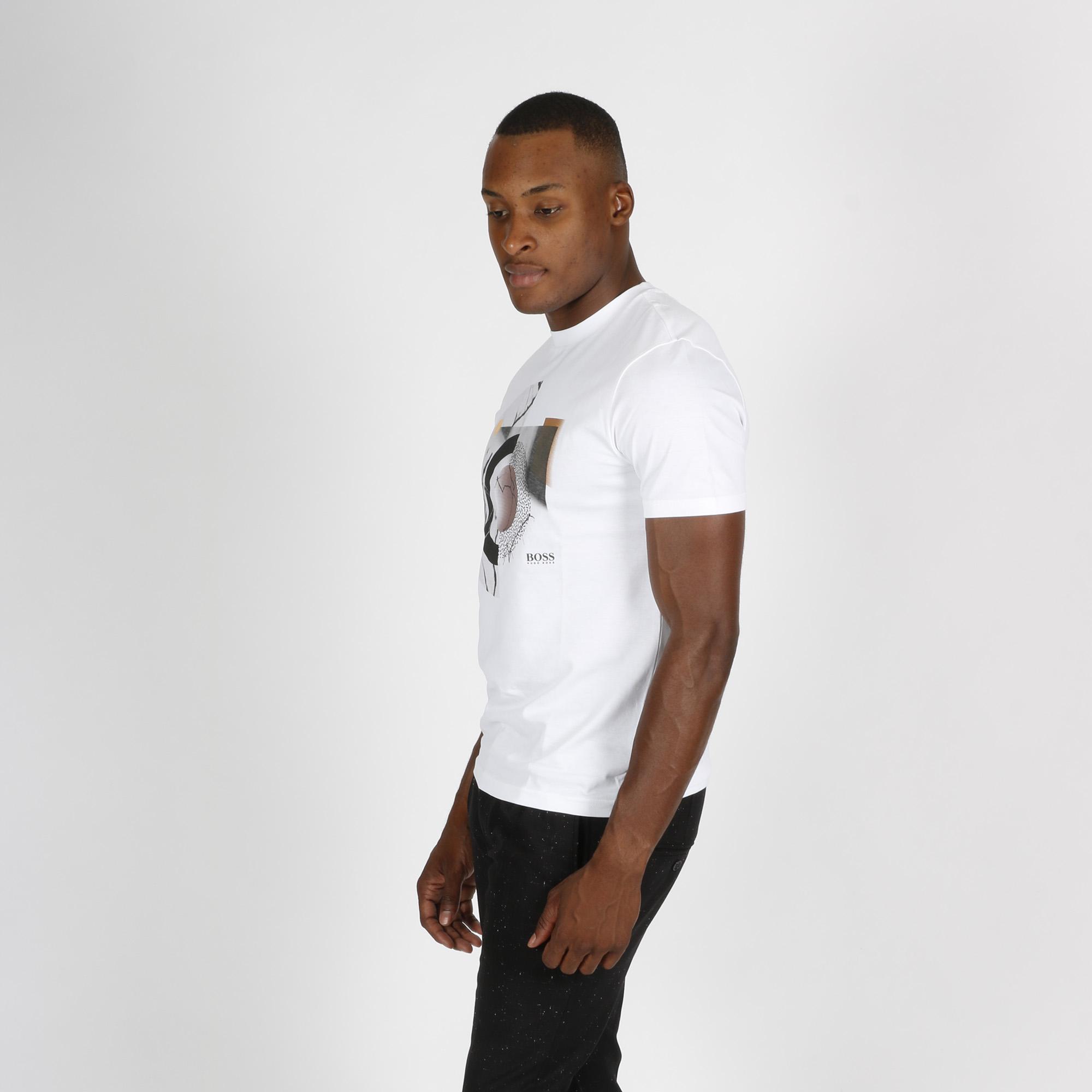 T-shirt nucleo - Bianco