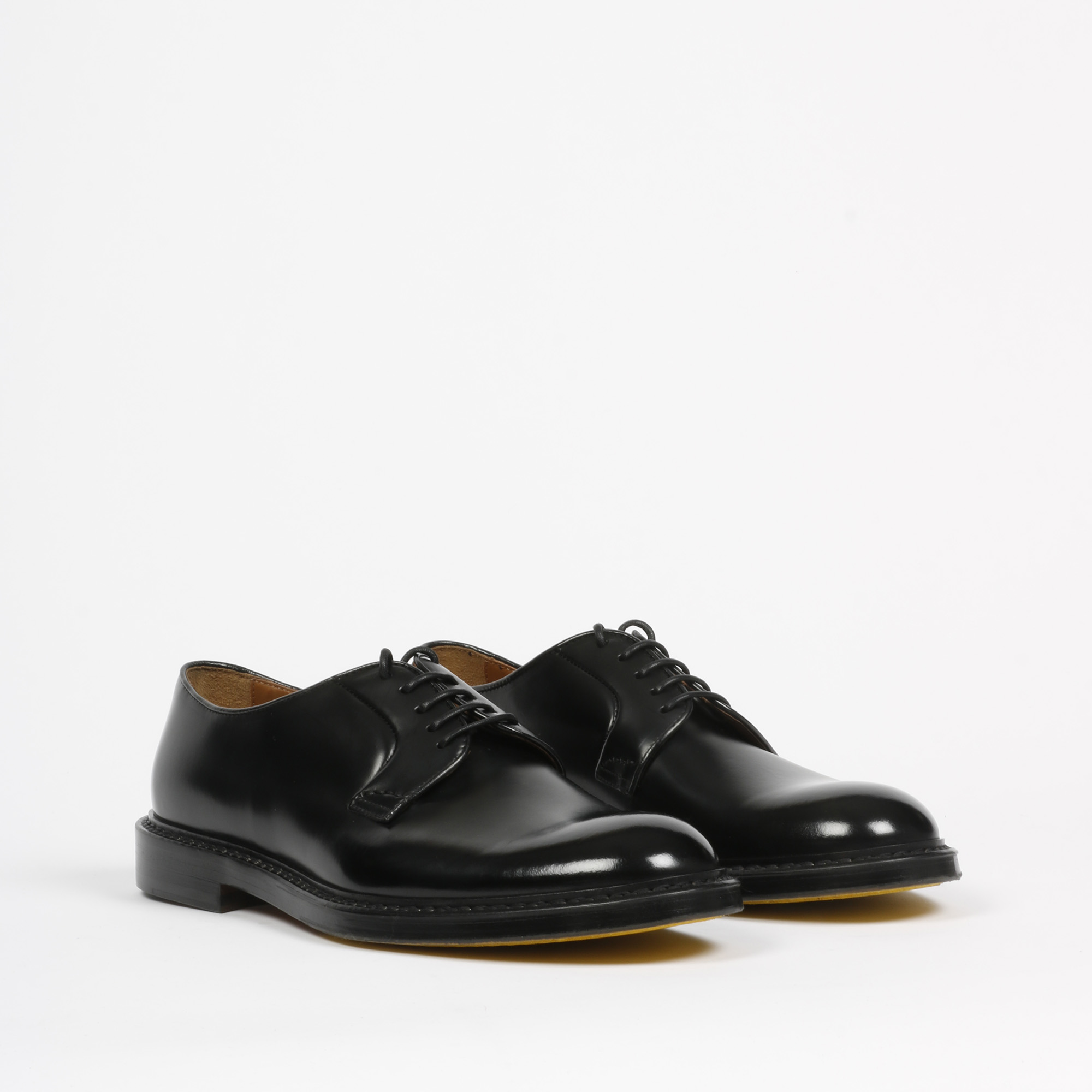 Derby horse burgundy - Nero
