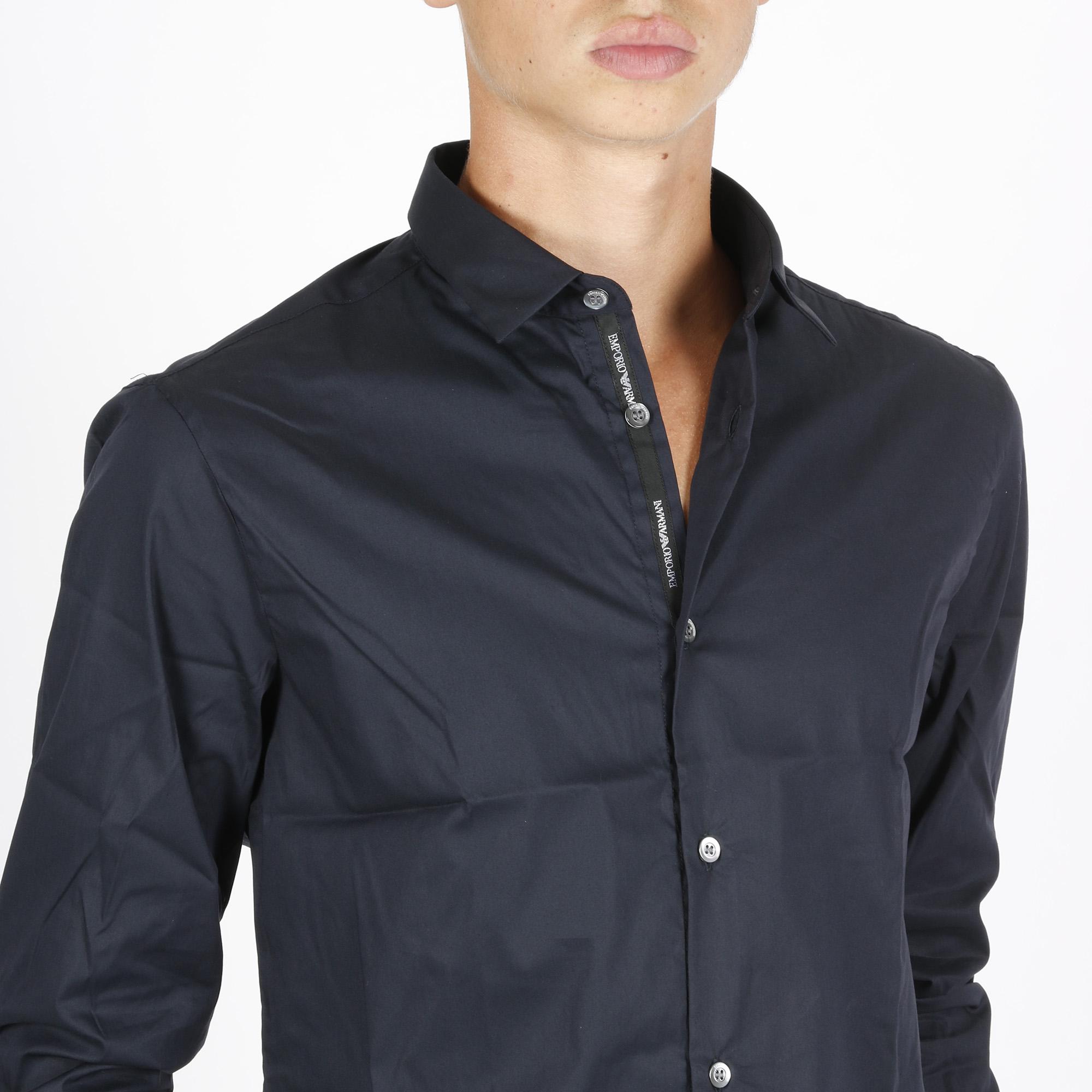 Camicia classic - Blu