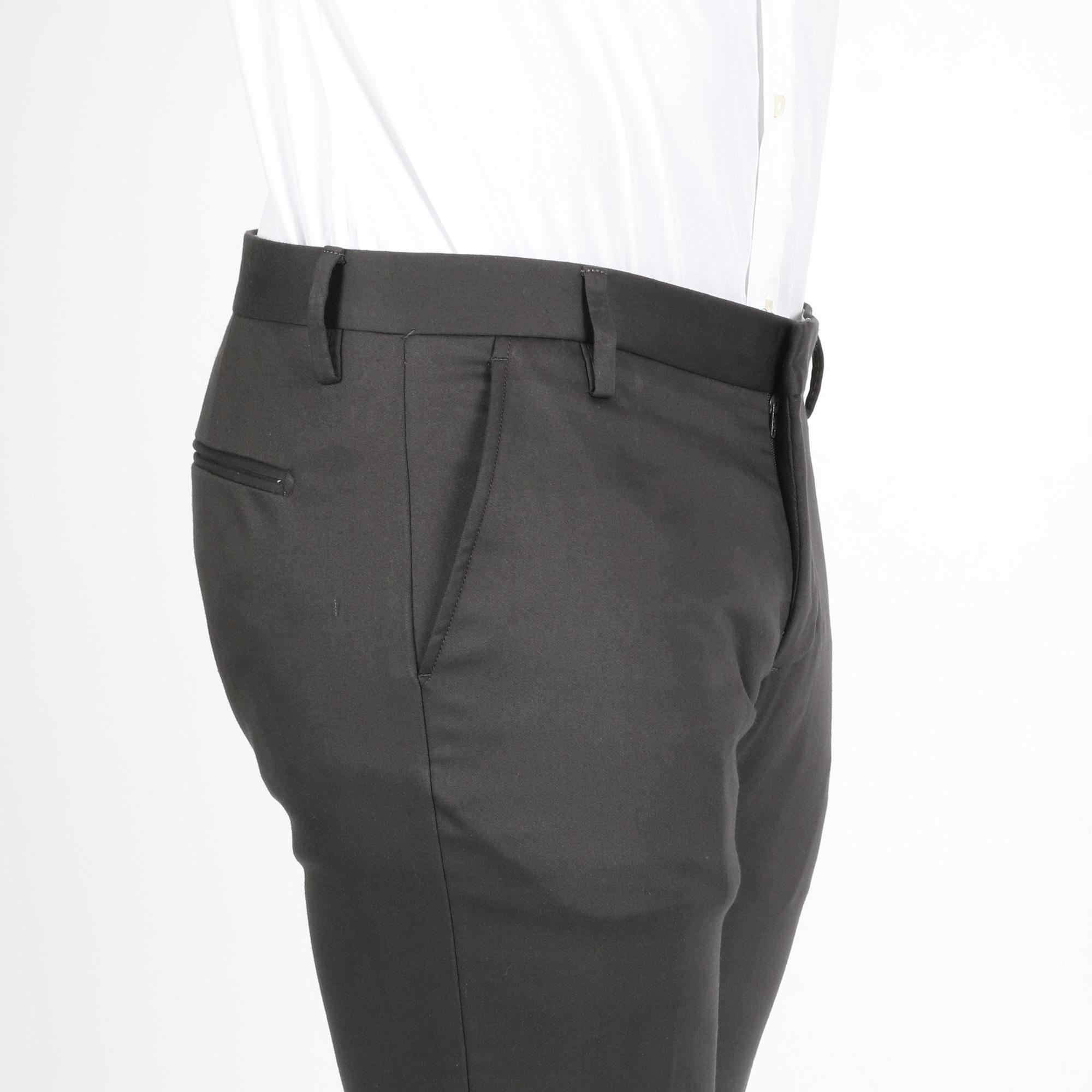 Pantalone america lungo - Grigio scuro