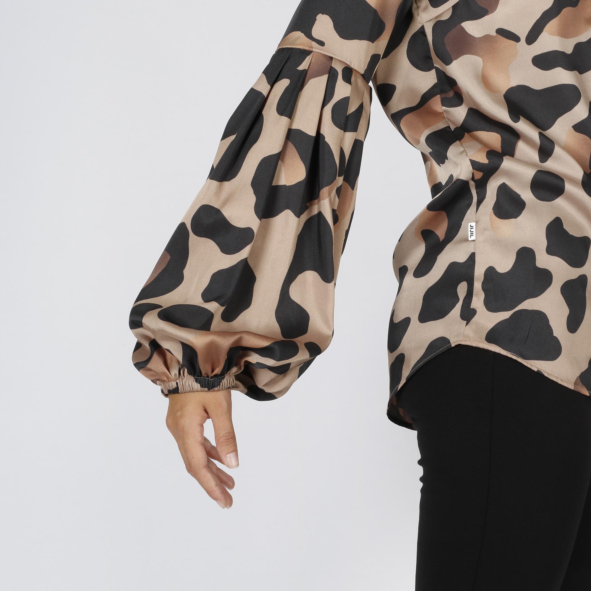 Camicia maculato grande - Marrone