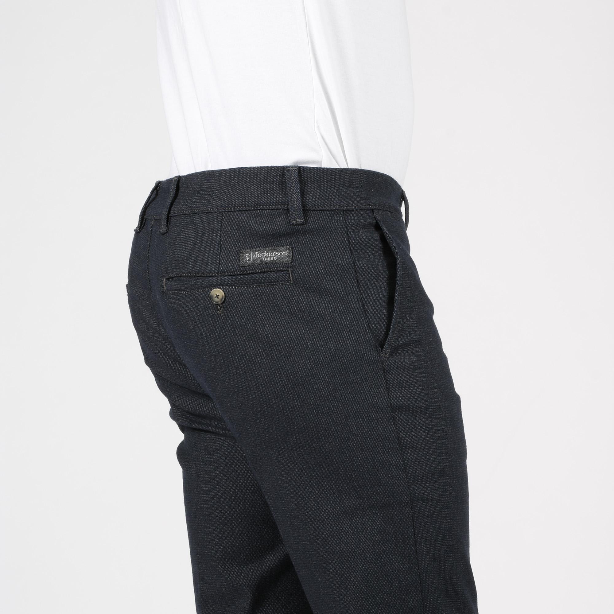 Pantalone chino - Grigio twill