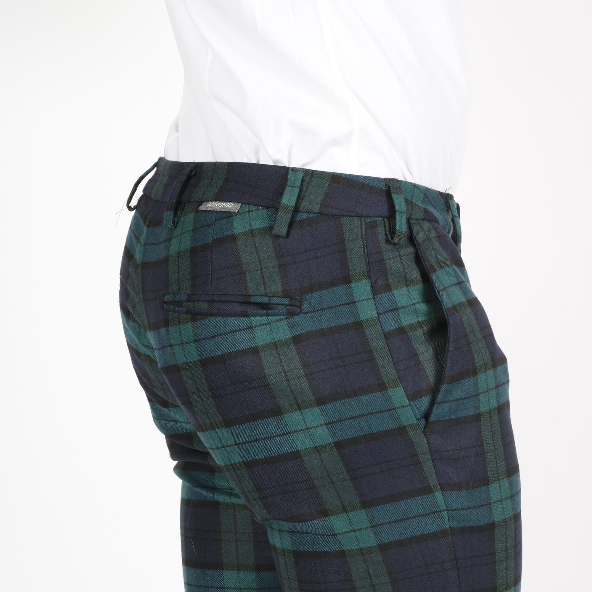 Pantalone reef - Blu/verde