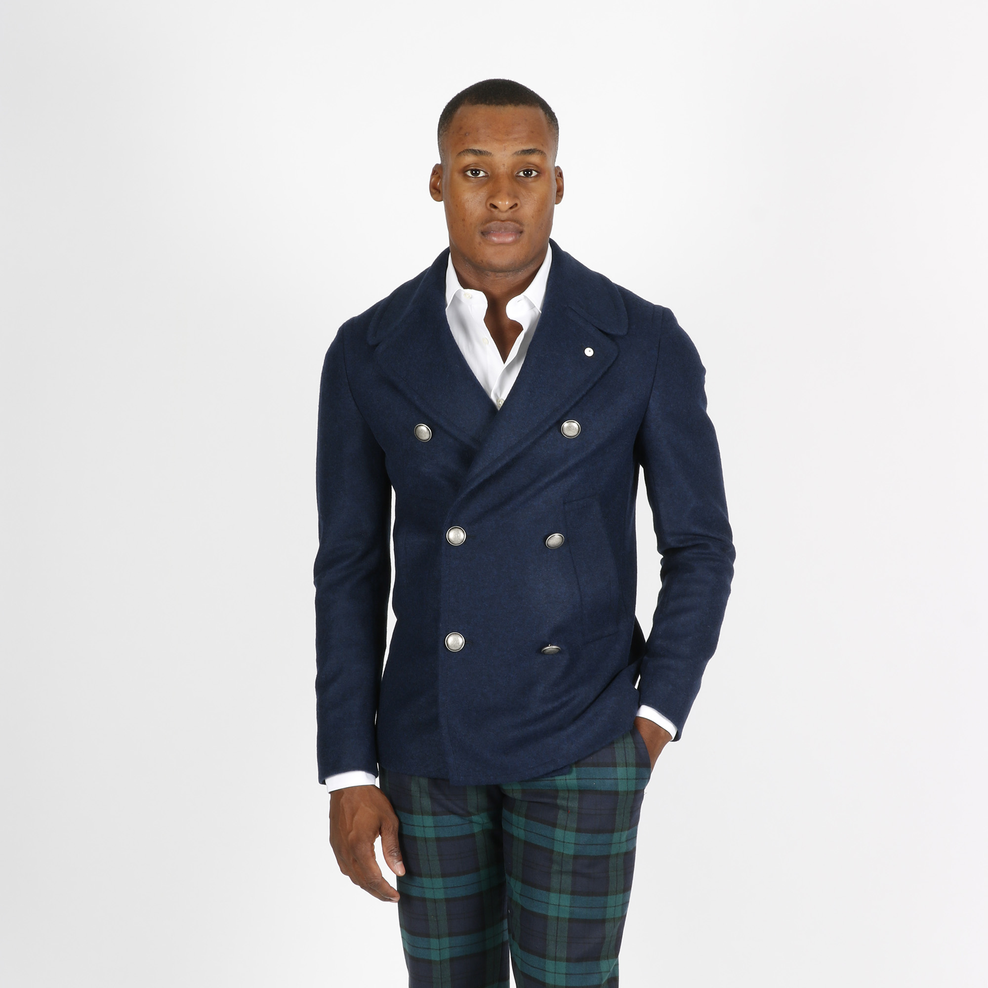 Giaccone tailored - Blu