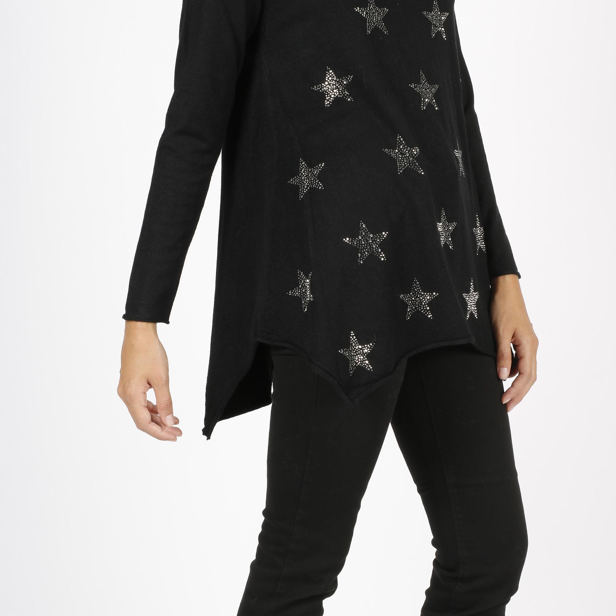 Maglia stelle - Nero