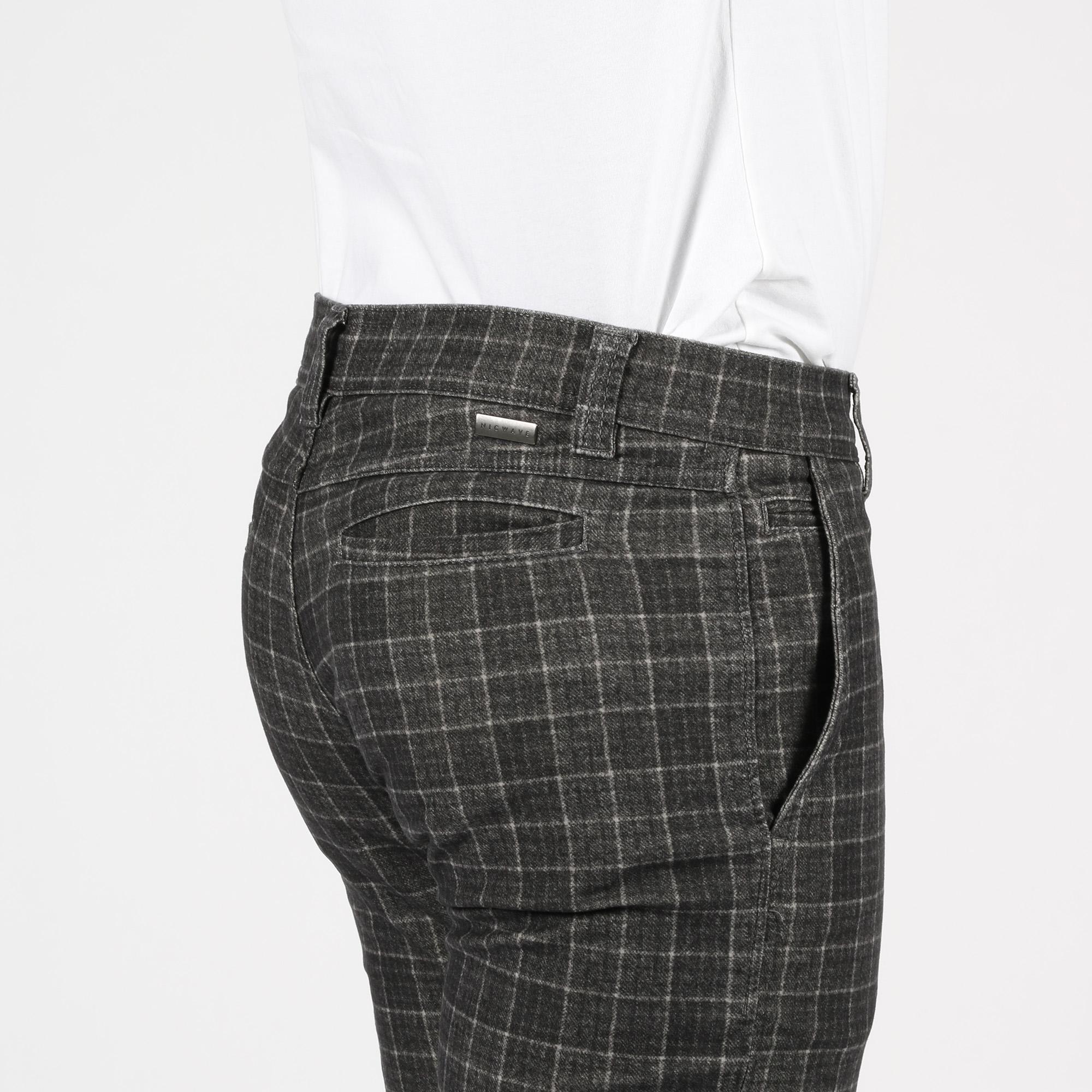 Pantalone draw slim - Grigio