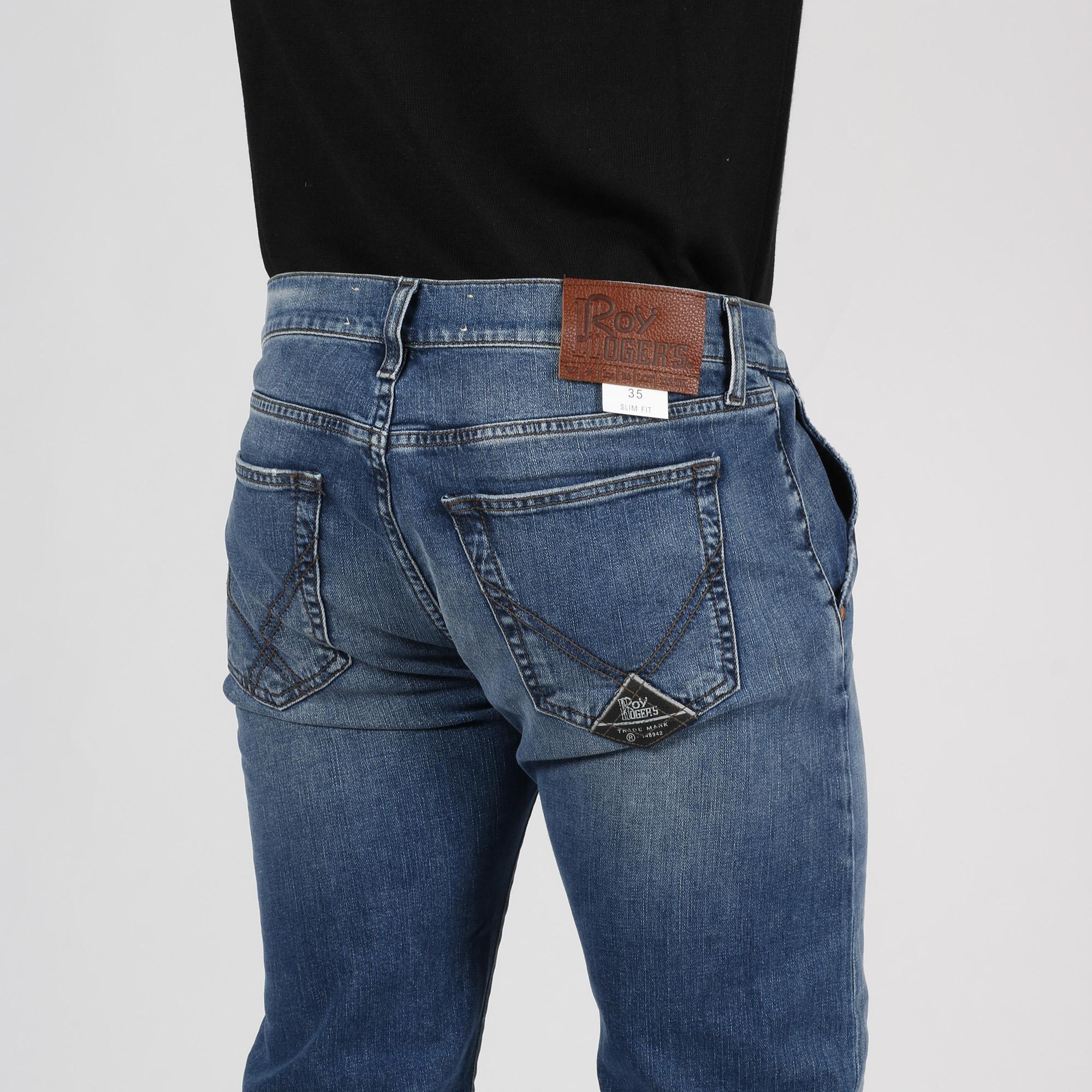 Jeans elias saba - Denim chiaro