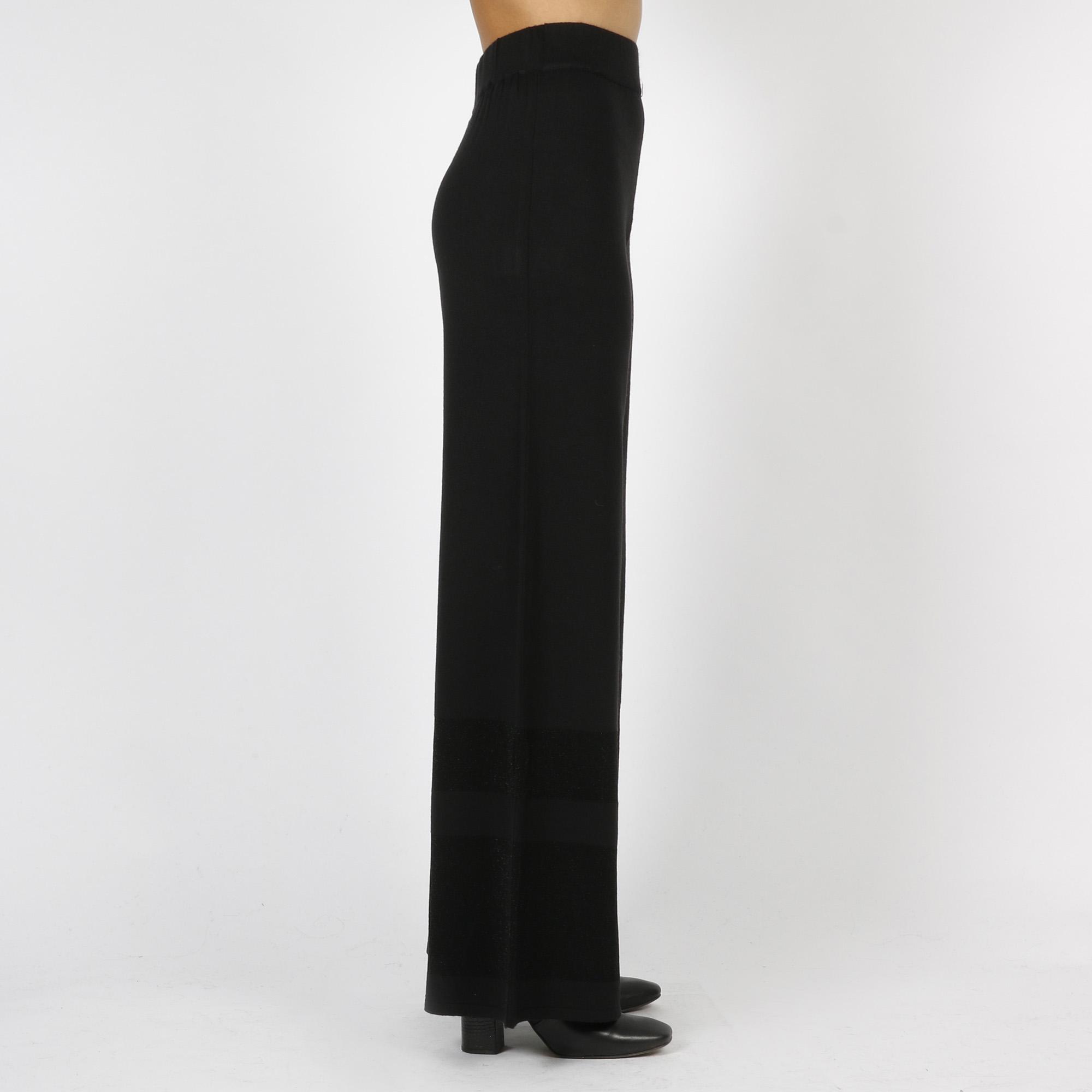 Pantalone maglia - Nero