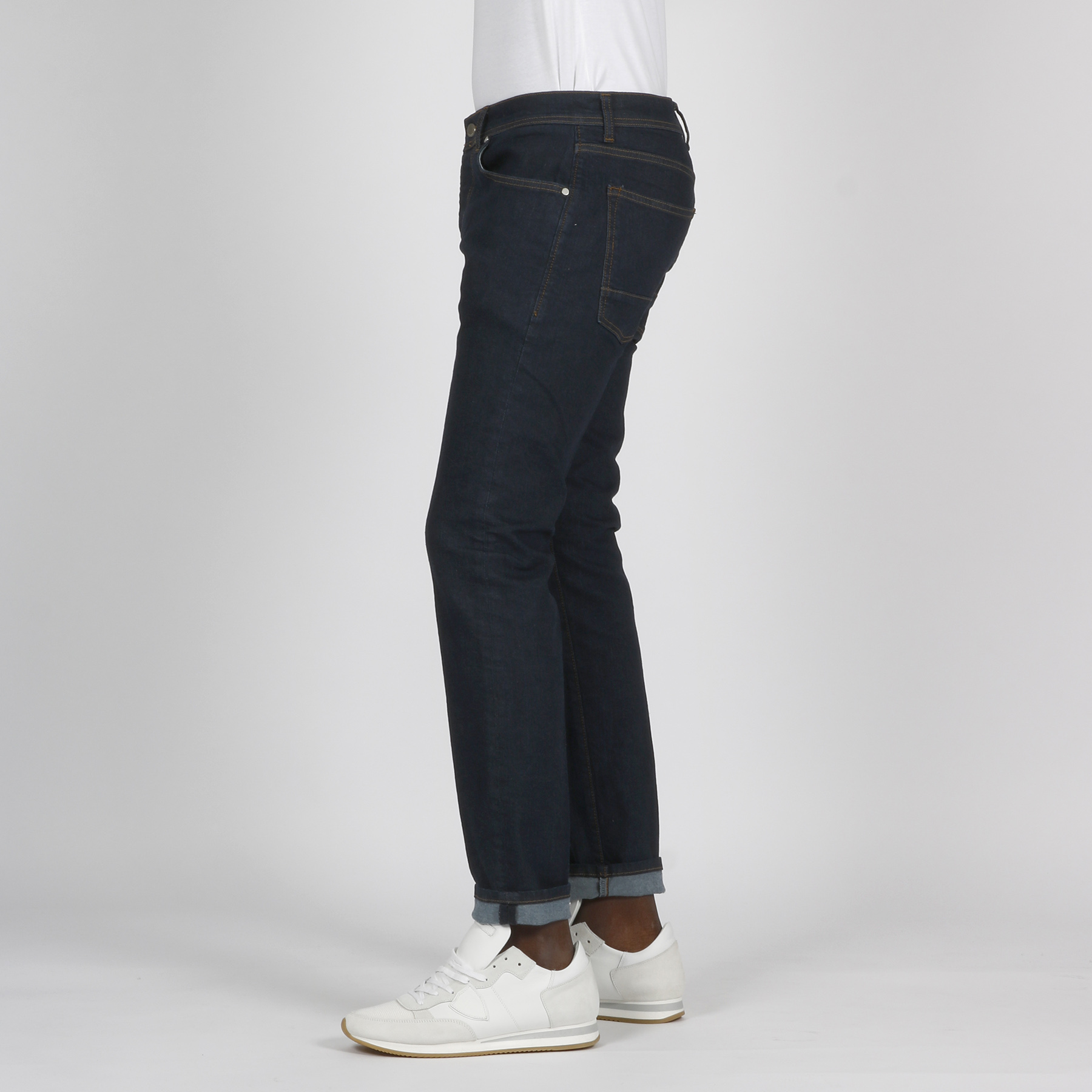 Jeans cinque tasche - Denim scuro