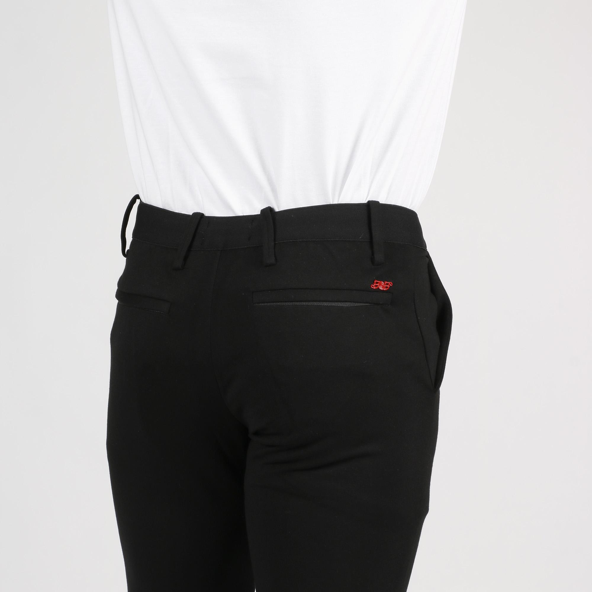 Pantalone in maglia - Nero
