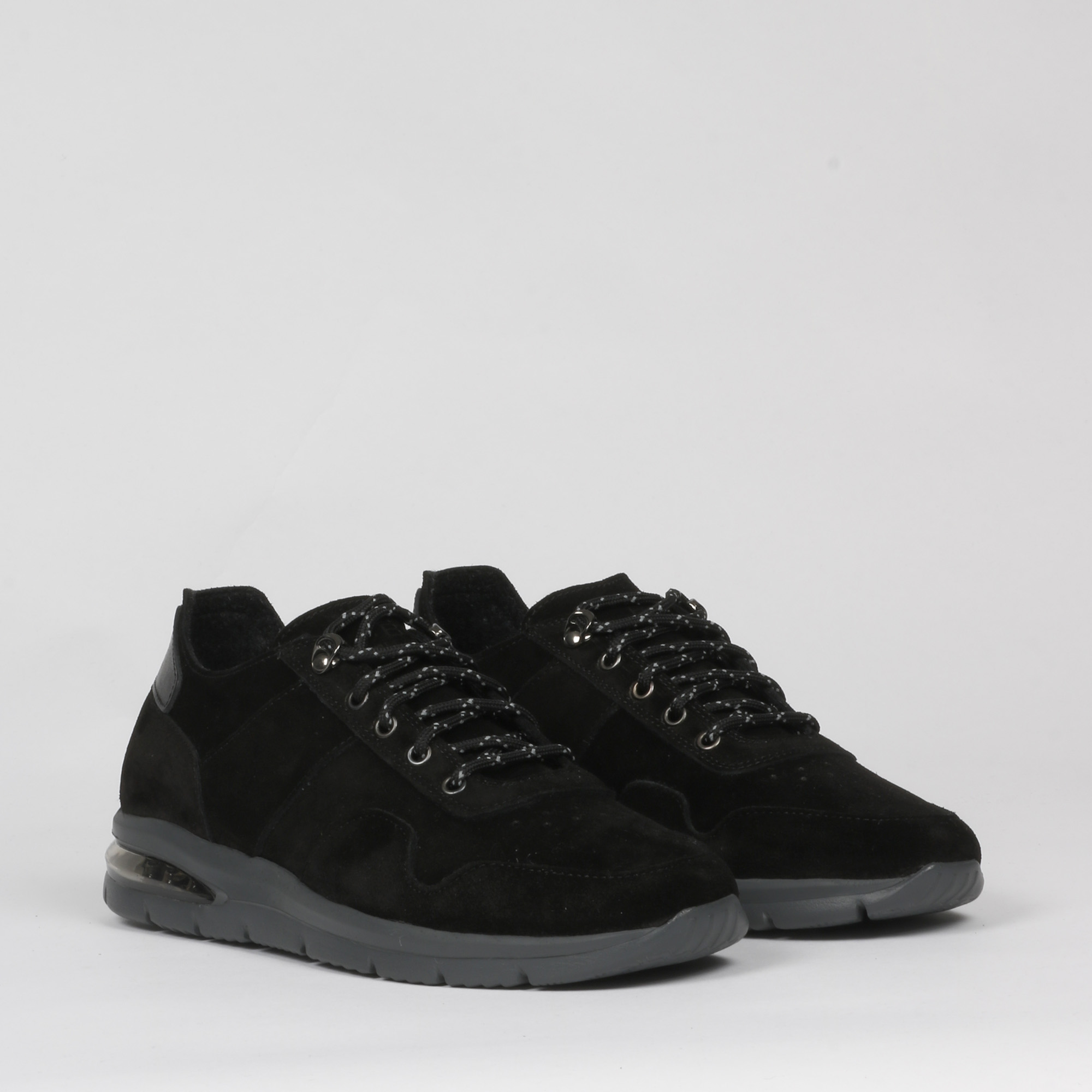 Air grecale suede - Nero