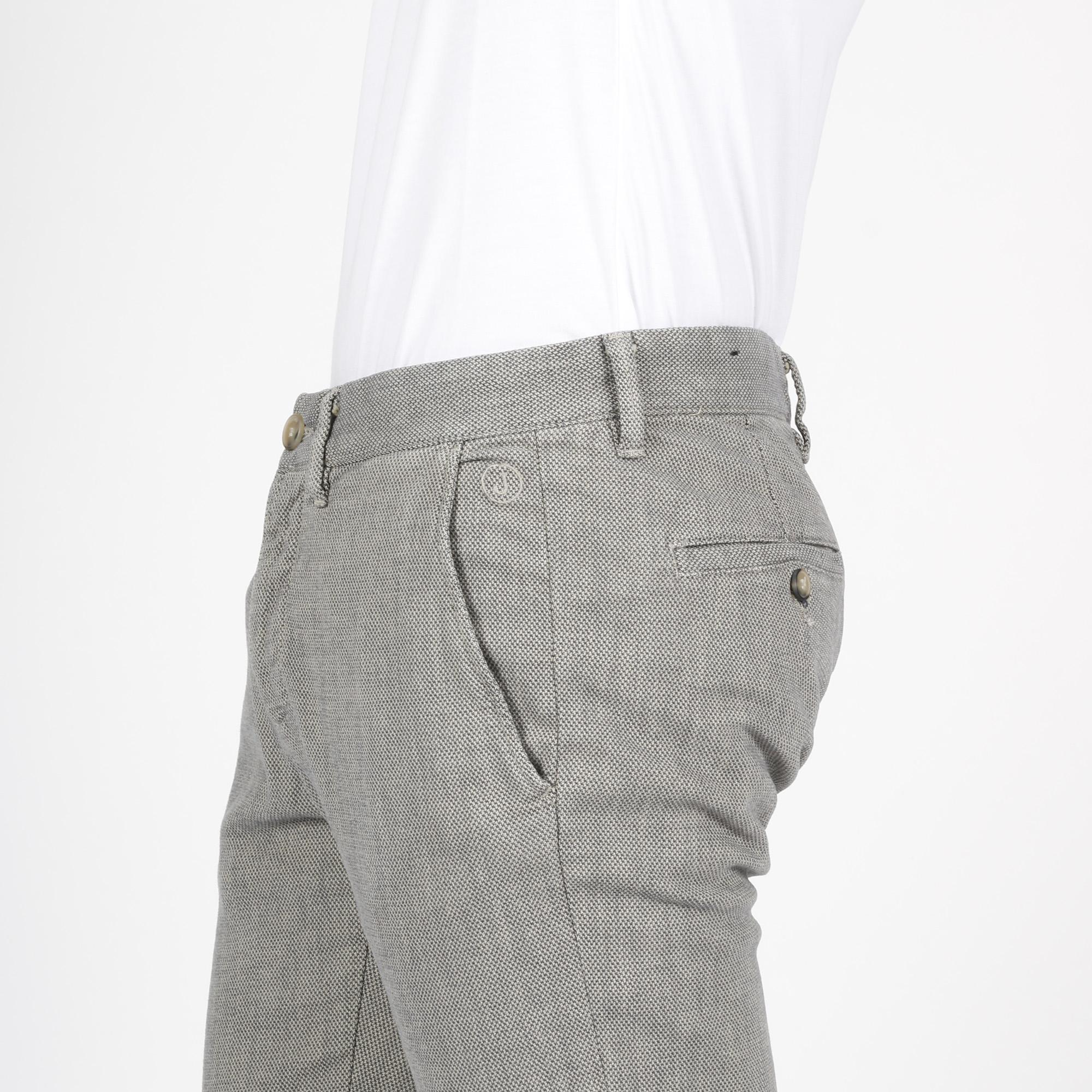Pantalone chino - Grigio