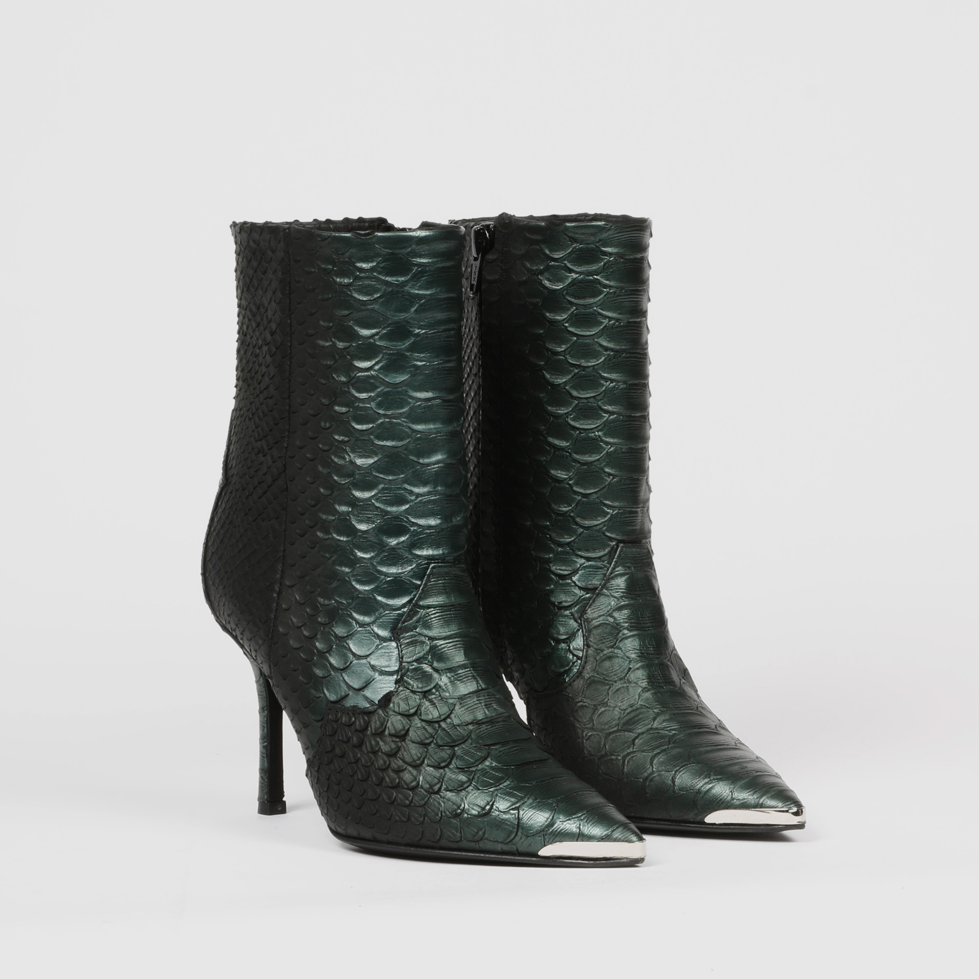 Stivali anaconda metal - Verde