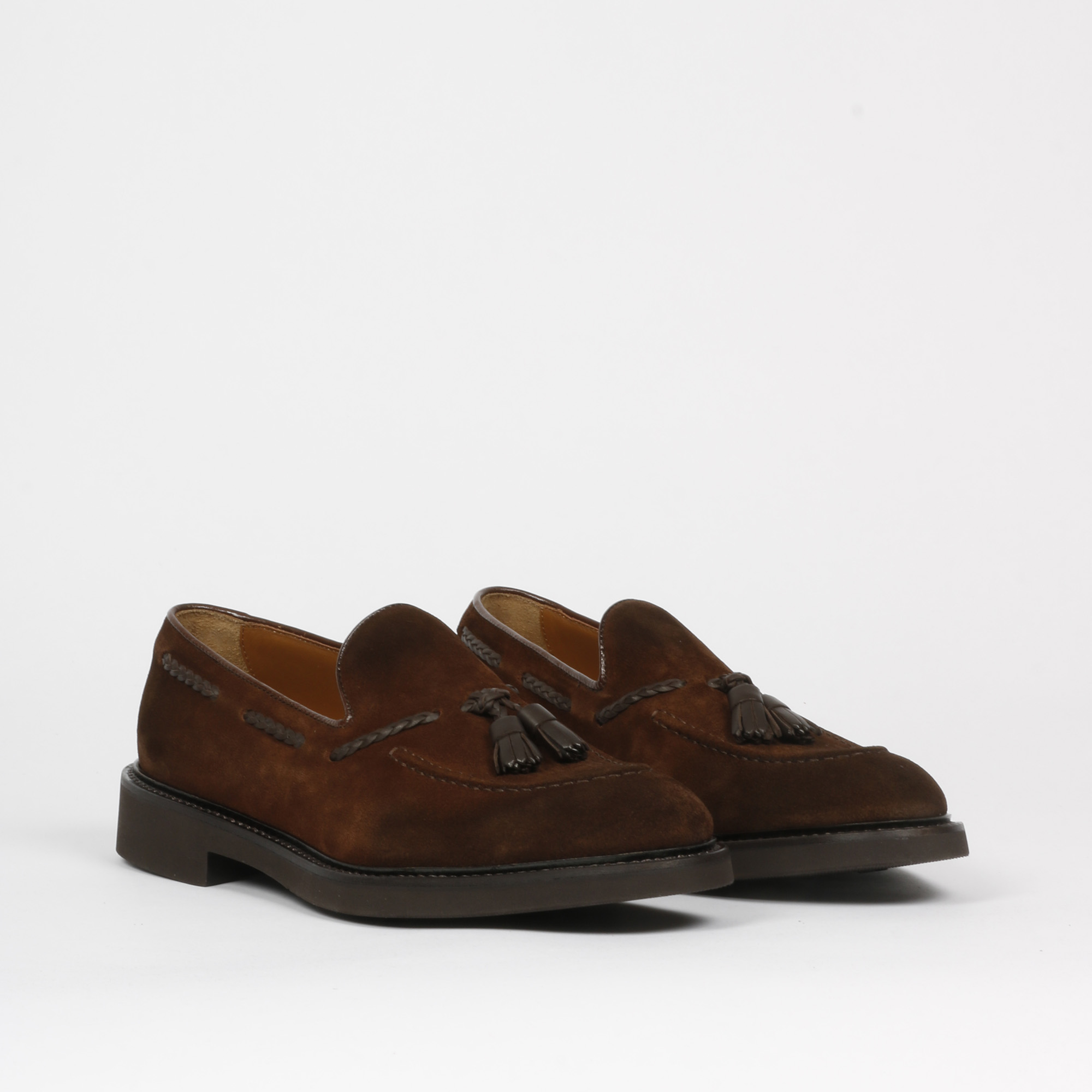 Mocassino tassel snuf - Marrone