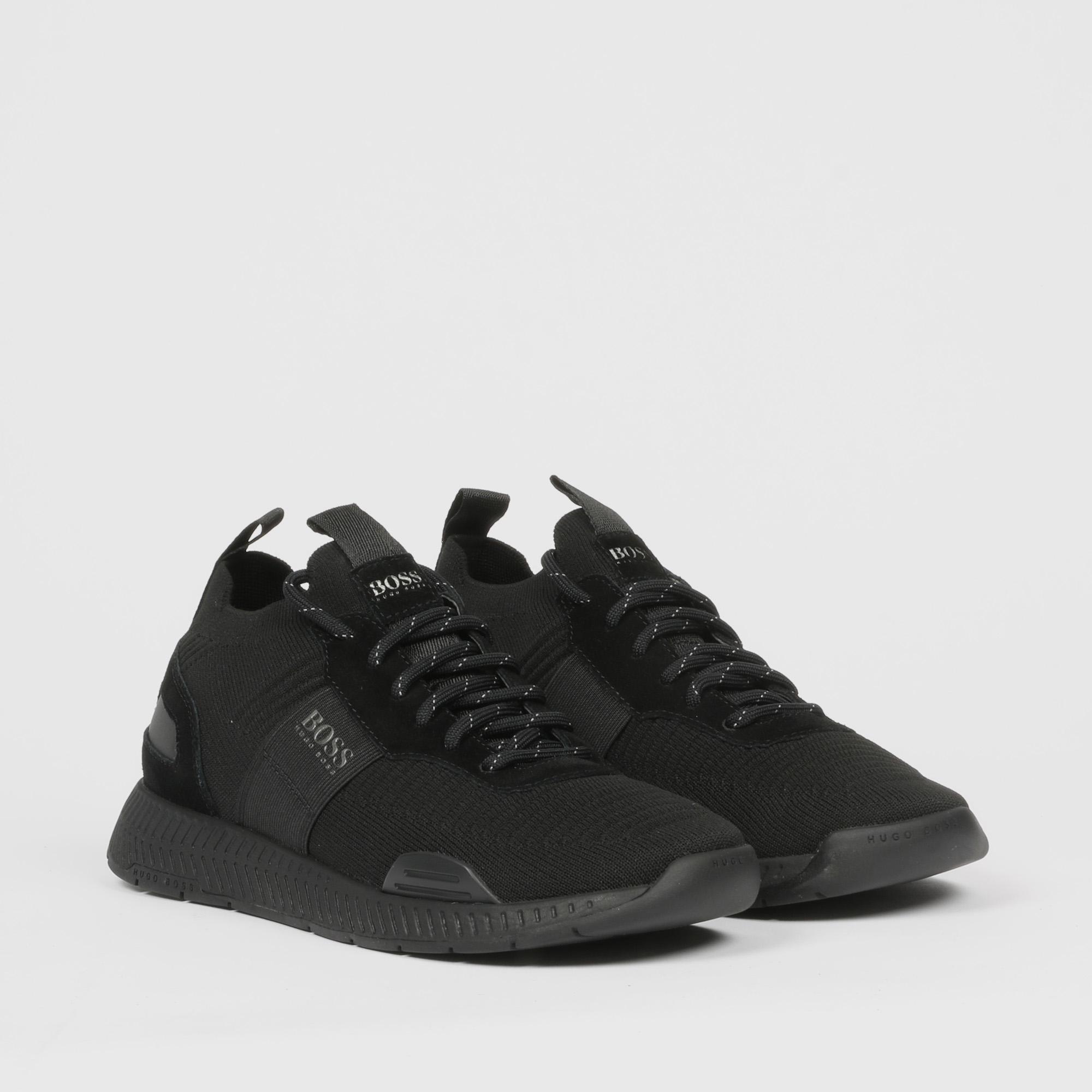 Sneakers titanium runn - Nero