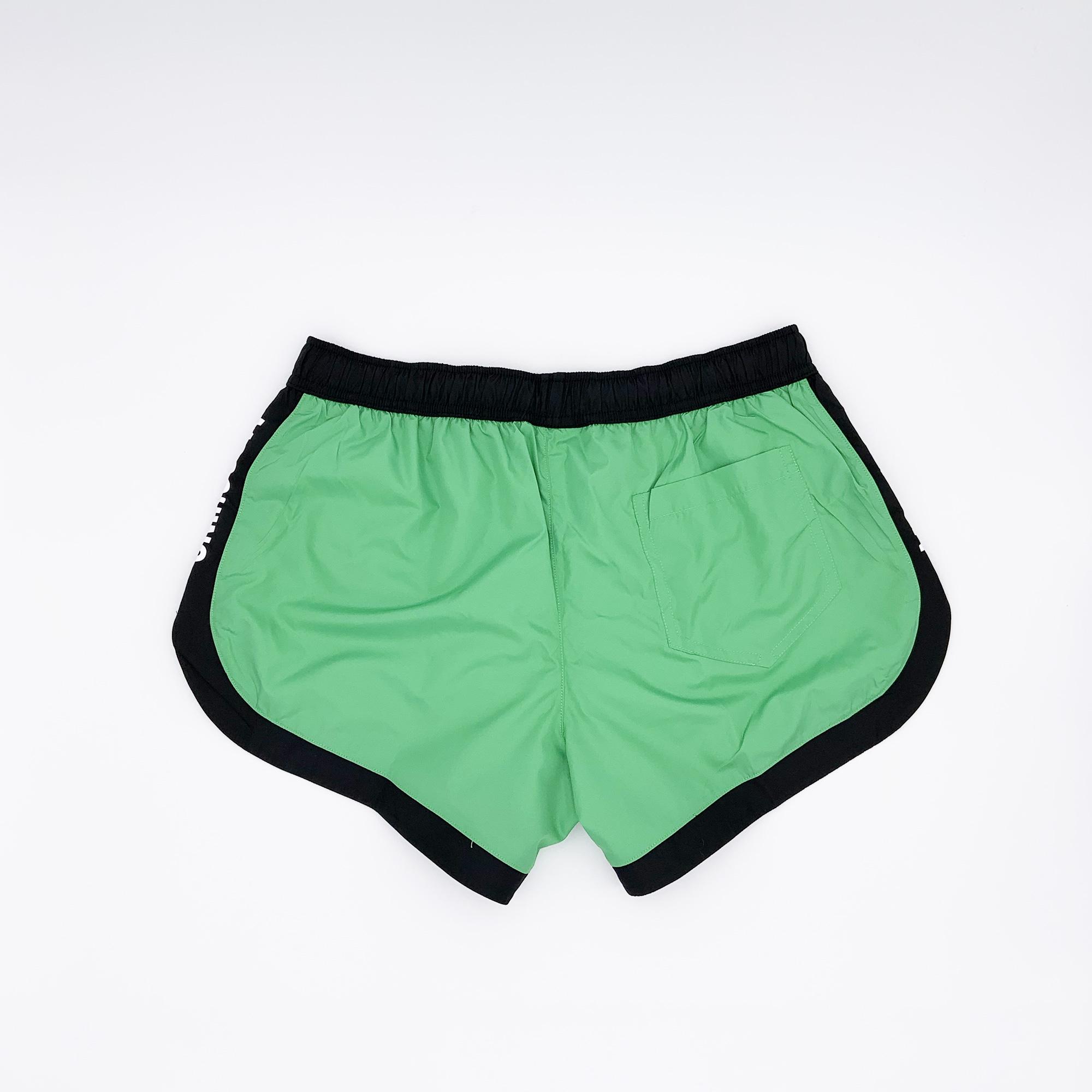 Costume boxer bicolore - Verde