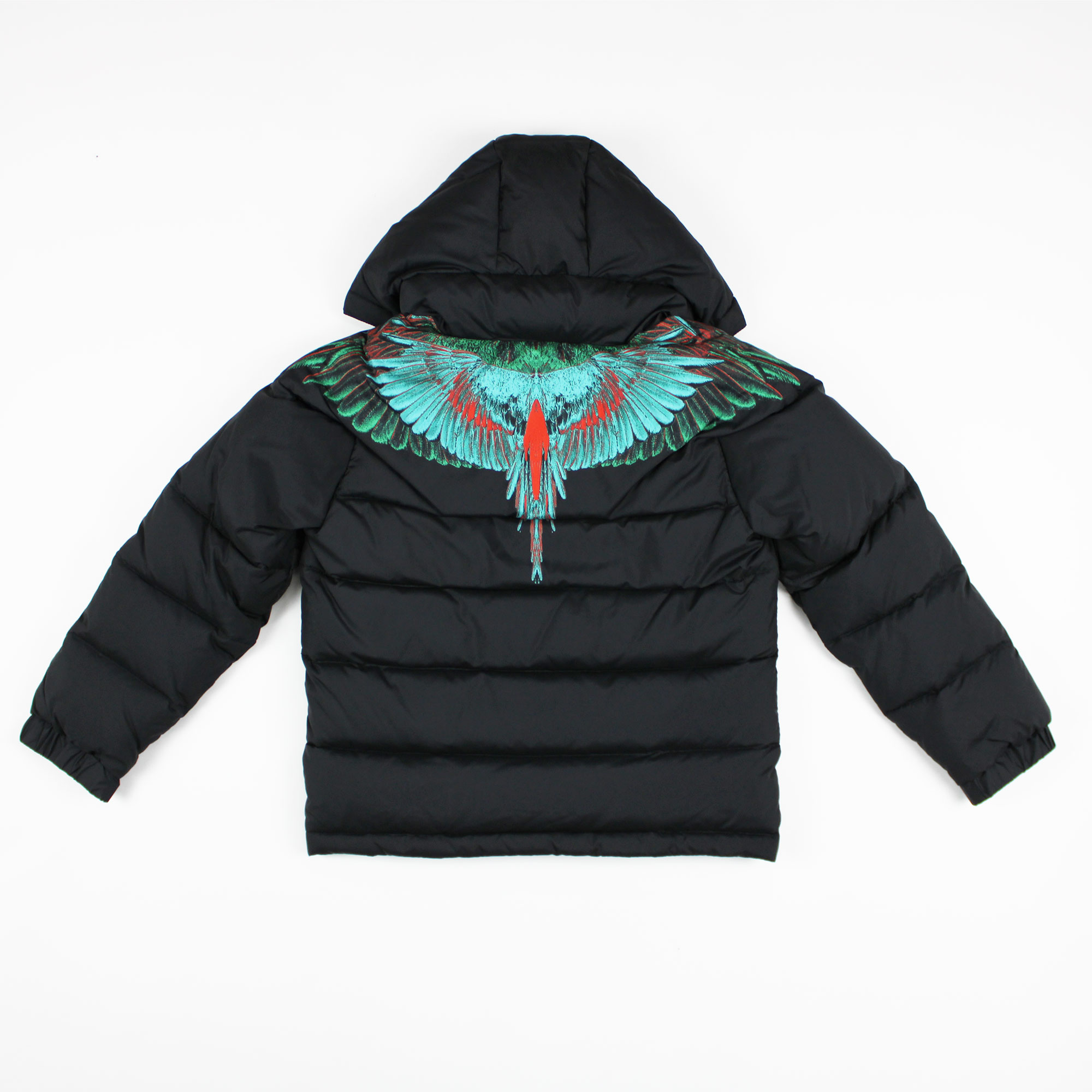 Piumino green wings- Nero