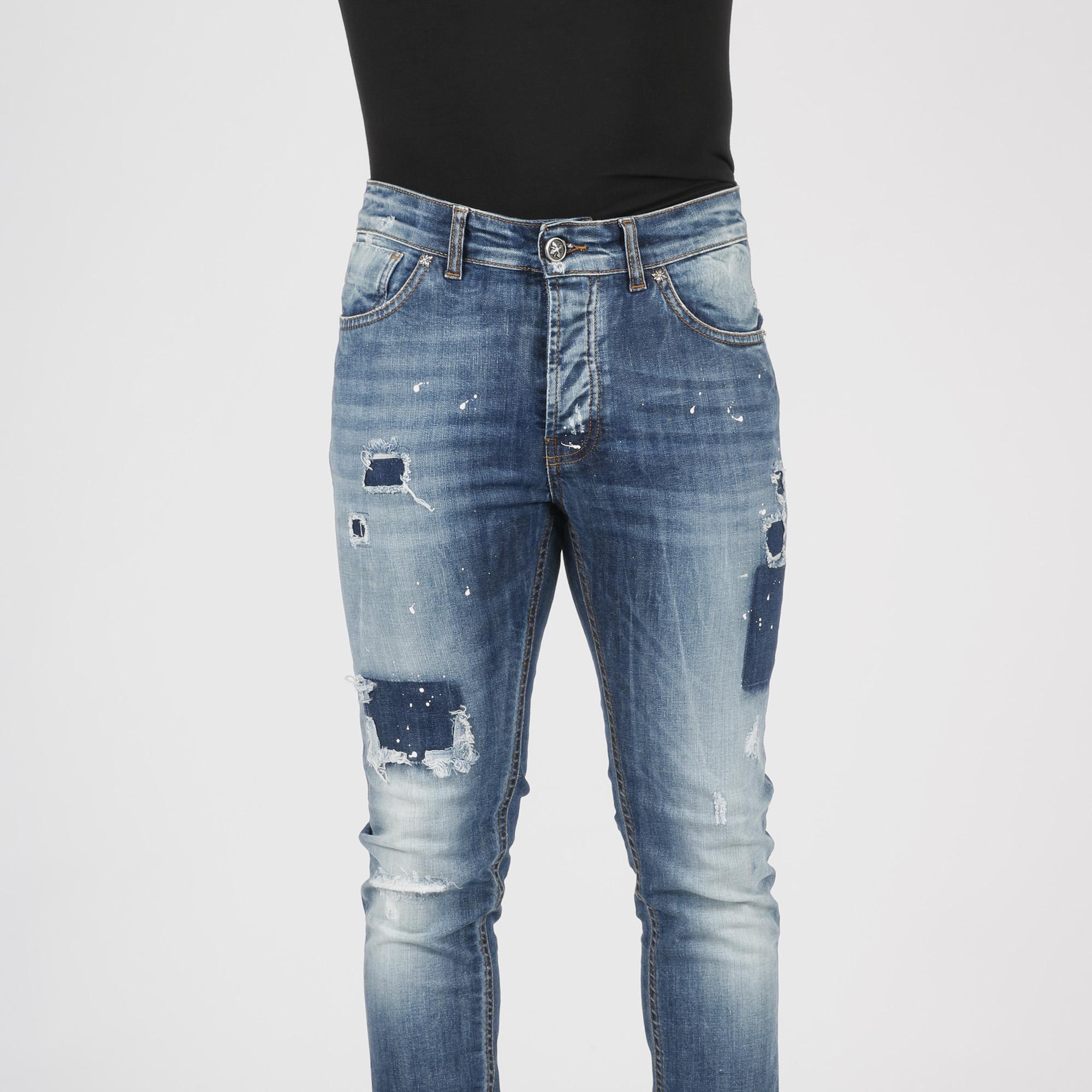 Jeans skinny vissuto - Denim