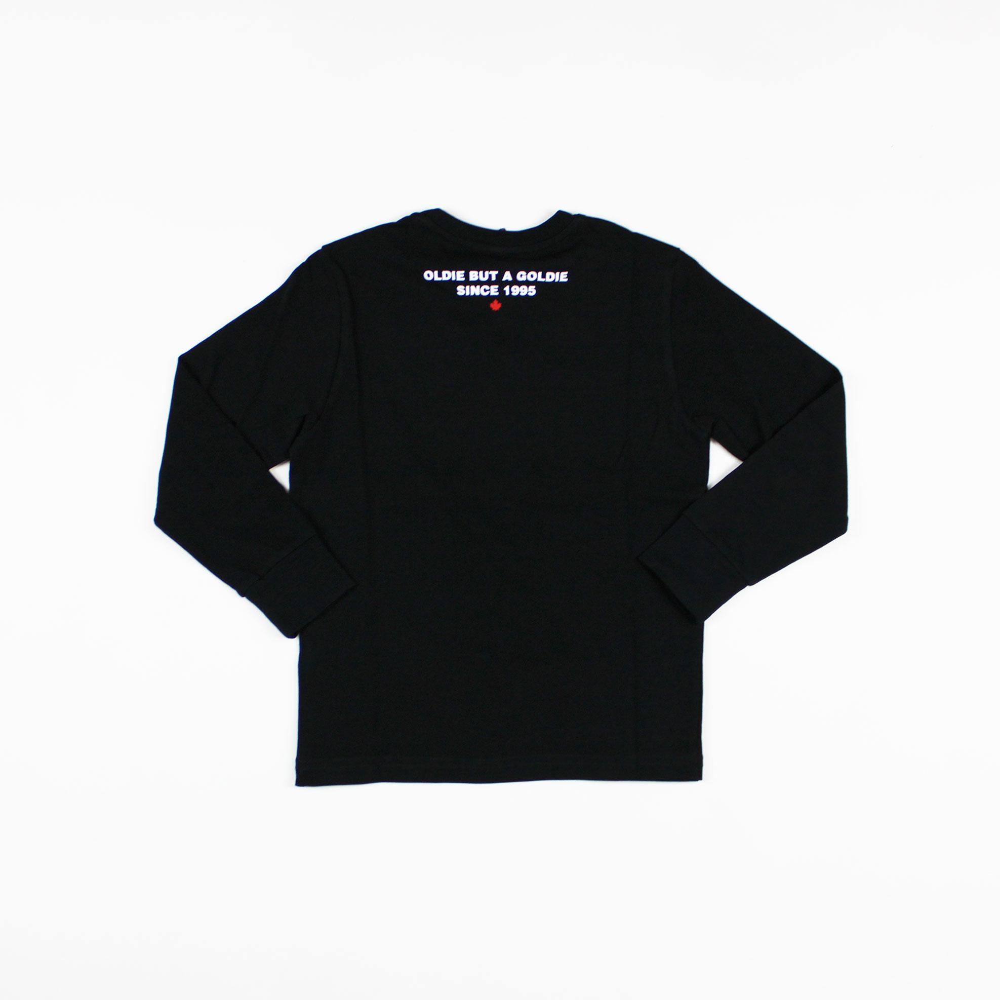 T-shirt scritta logo - Nero