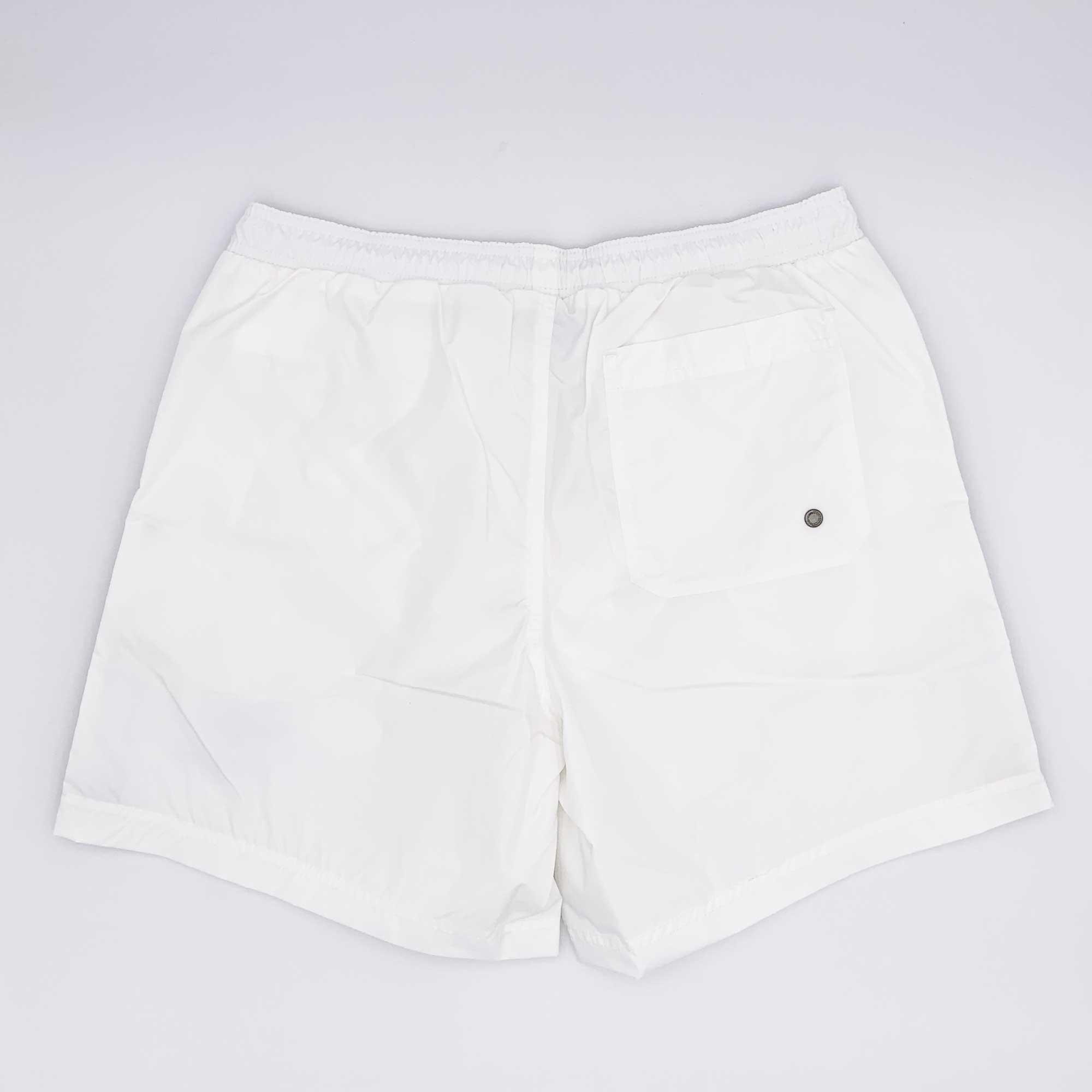 Costume boxer fascia tricolore - Bianco
